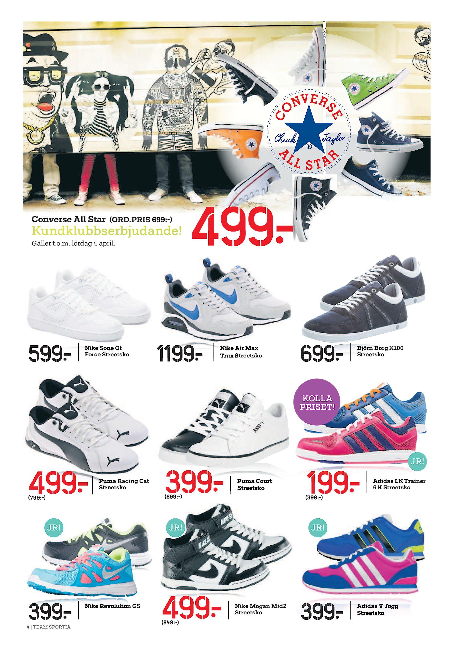 competitive price c101f 1c040 599  Nike Sone Of Force Streetsko 499  1199  Nike Air Max Trax Streetsko  699  Björn Borg X100 Streetsko KOLLA PRISET! JR!