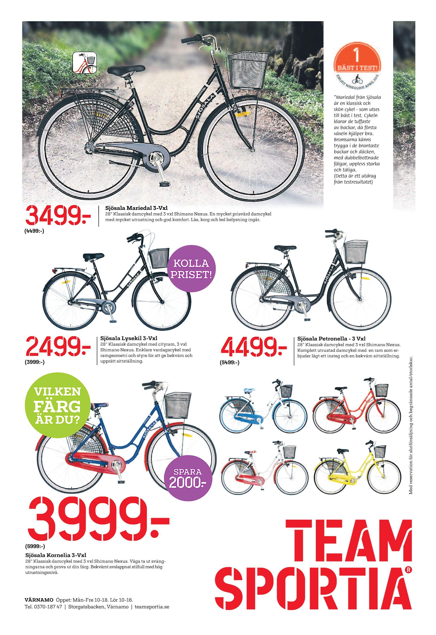 """""""Mariedal från Sjösala är en klassisk och skön cykel - som utses till bäst  i test. Cykeln klarar de tuffaste av backar a3c6f81f6420b"""