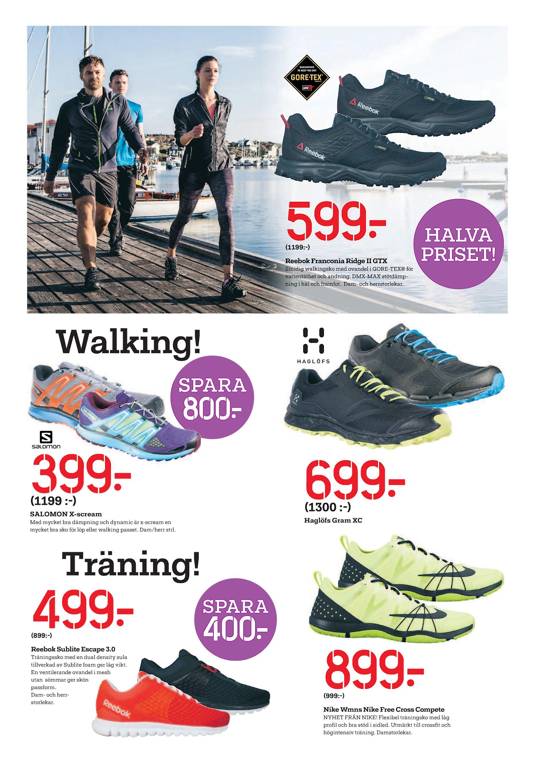huge discount d0250 5197f Smidig walkingsko med ovandel i GORE-TEX® för vattentäthet och andning.  DMX-MAX stötdämpning i häl och framfot. Dam- och herrstorlekar. Walking!
