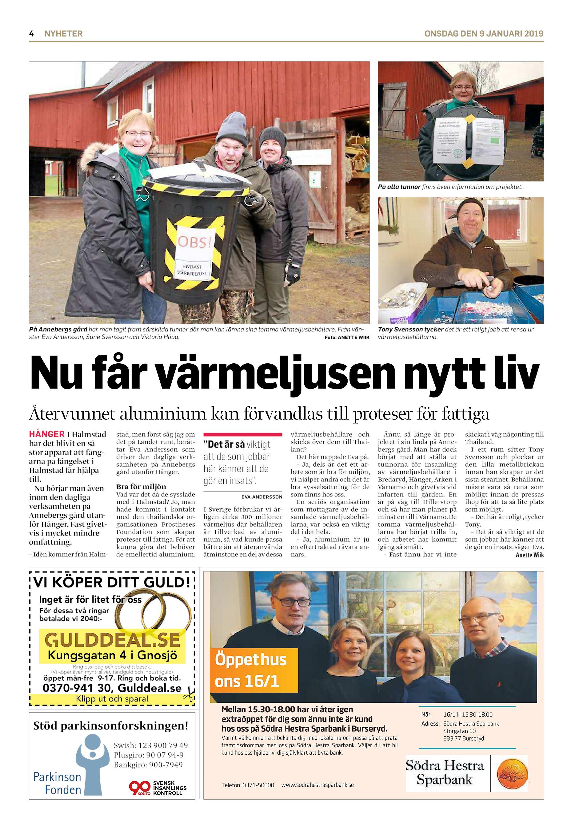 Jonas Klar, Lingonstigen 23, Hestra   patient-survey.net