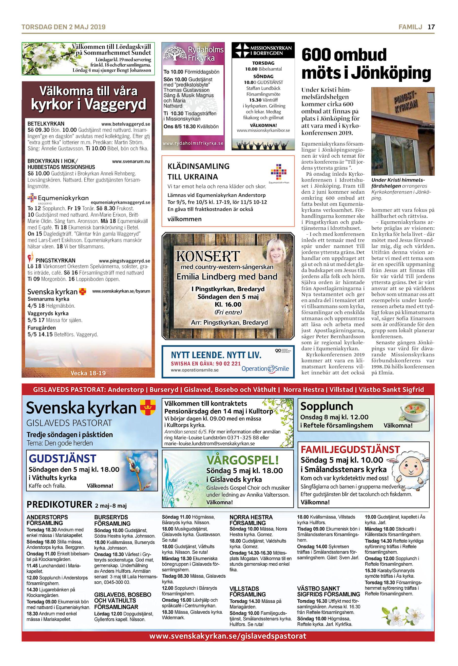 Jenny Forsgren, 44 r i Smlandsstenar p Krsbrsvgen 14