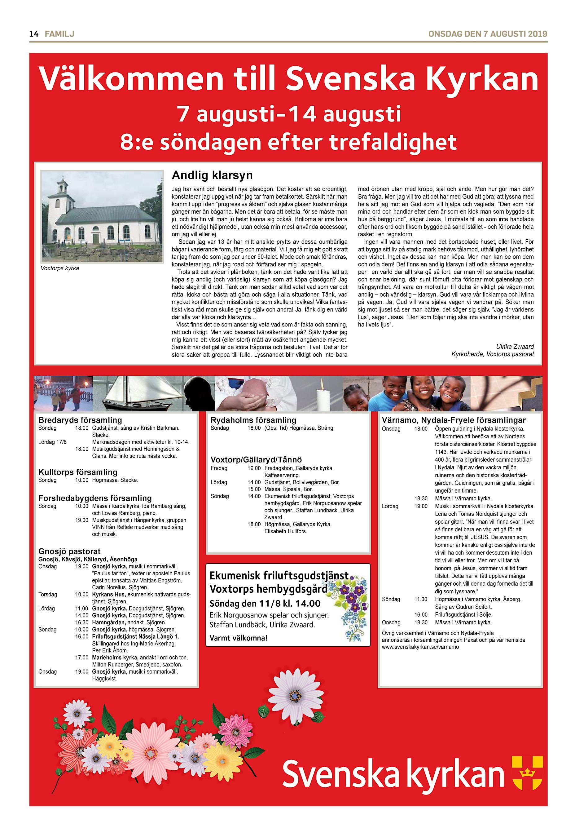 Kyrkoblad 2 2017 by Voxtorps pastorat - issuu