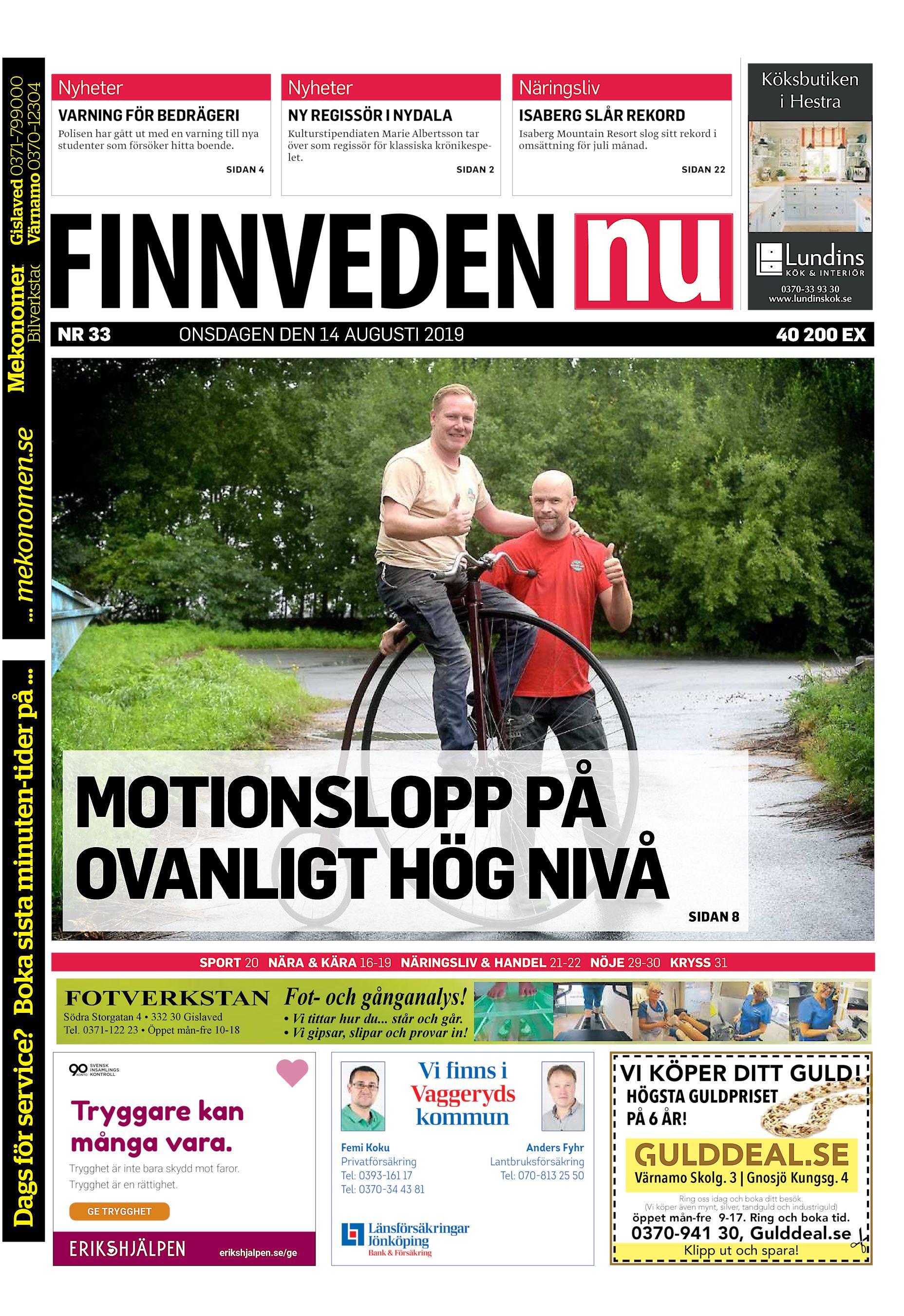 Mikael Larsson, Ringvgen 30, Hestra | omr-scanner.net