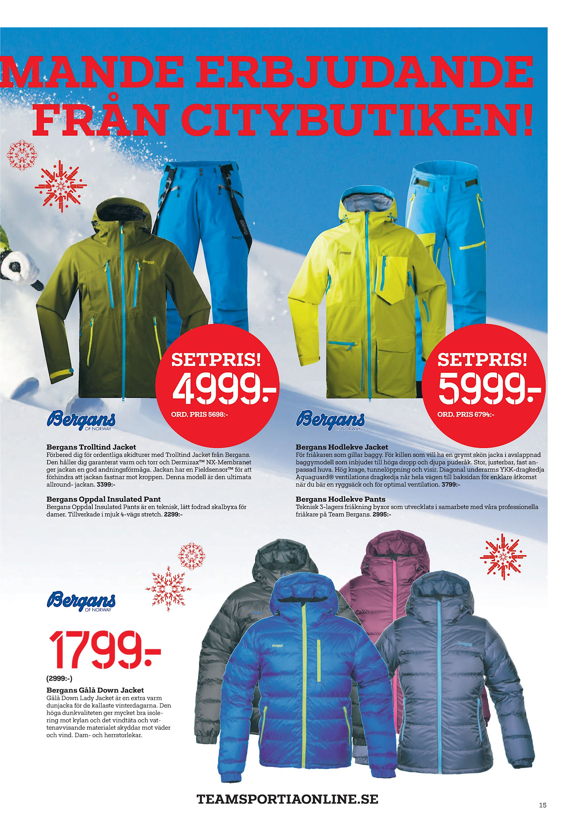 PRIS 5698 - ORD. PRIS 6794 - Bergans Trolltind Jacket Bergans Hodlekve  Jacket Förbered dig för ordentliga skidturer med Trolltind Jacket från  Bergans. c0cee5c04f5f4