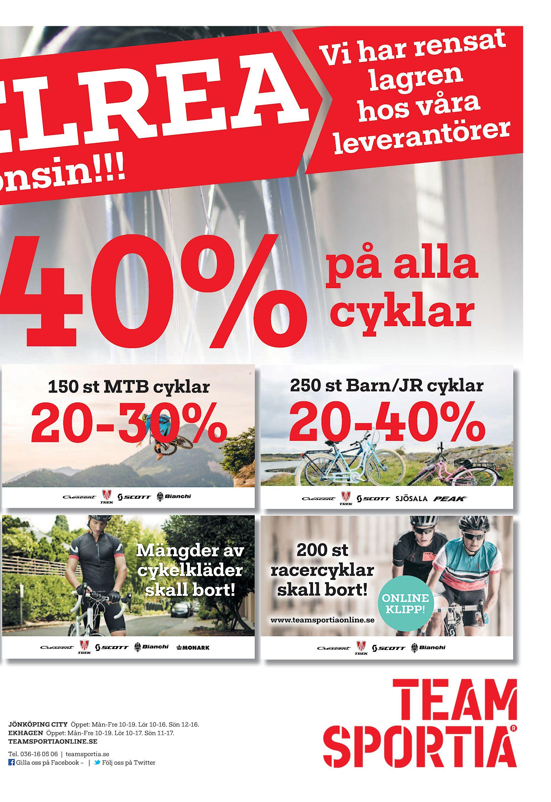 EA LR E sin!!! on 40% 150 st MTB cyklar 20-30% Mängder av cykelkläder skall  bort! rensat Vi har lagren os våra h antörer lever på alla cyklar 250 st  Barn JR ... 2bfaf3f7f9224