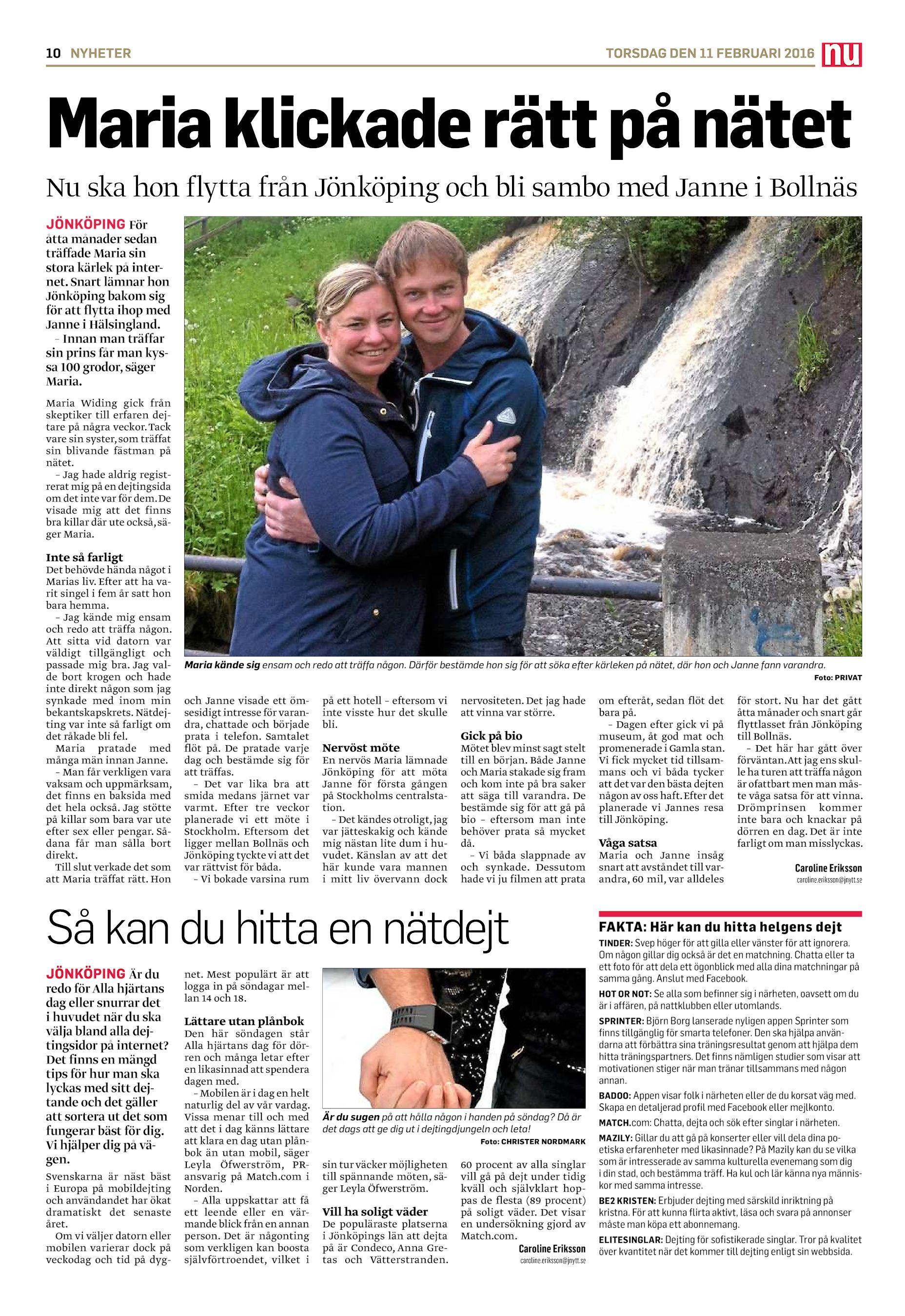 nätdejting växjö jönköping
