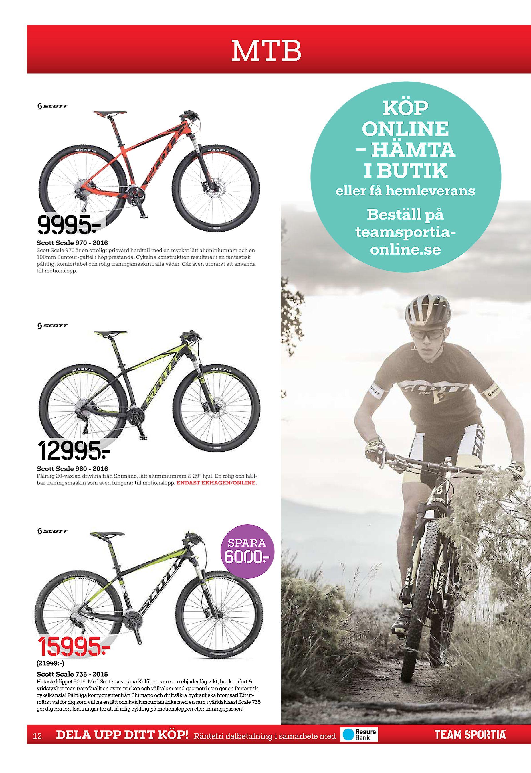 prisvärd mountainbike 2016