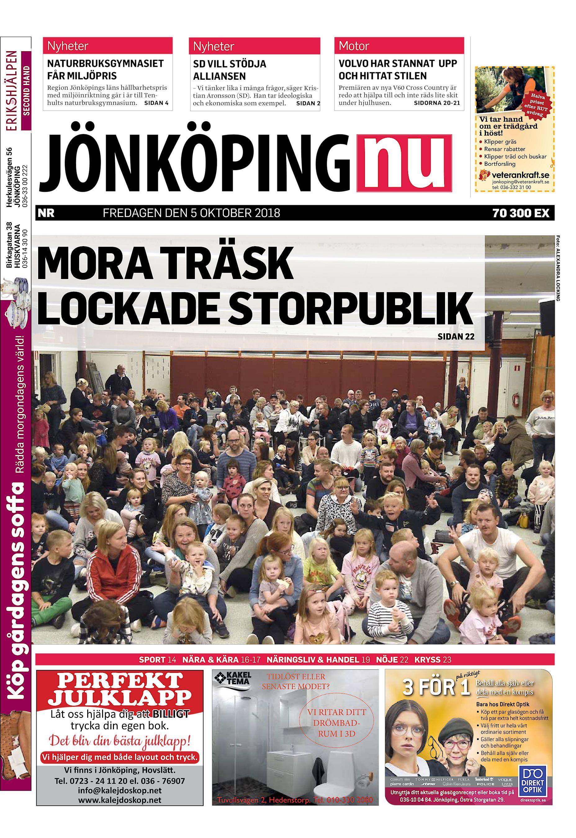 f8fba2e9aab9 ... ALLIANSEN VOLVO HAR STANNAT UPP OCH HITTAT STILEN Region Jönköpings  läns hållbarhetspris med miljöinriktning går i år till Tenhults  naturbruksgymnasium.