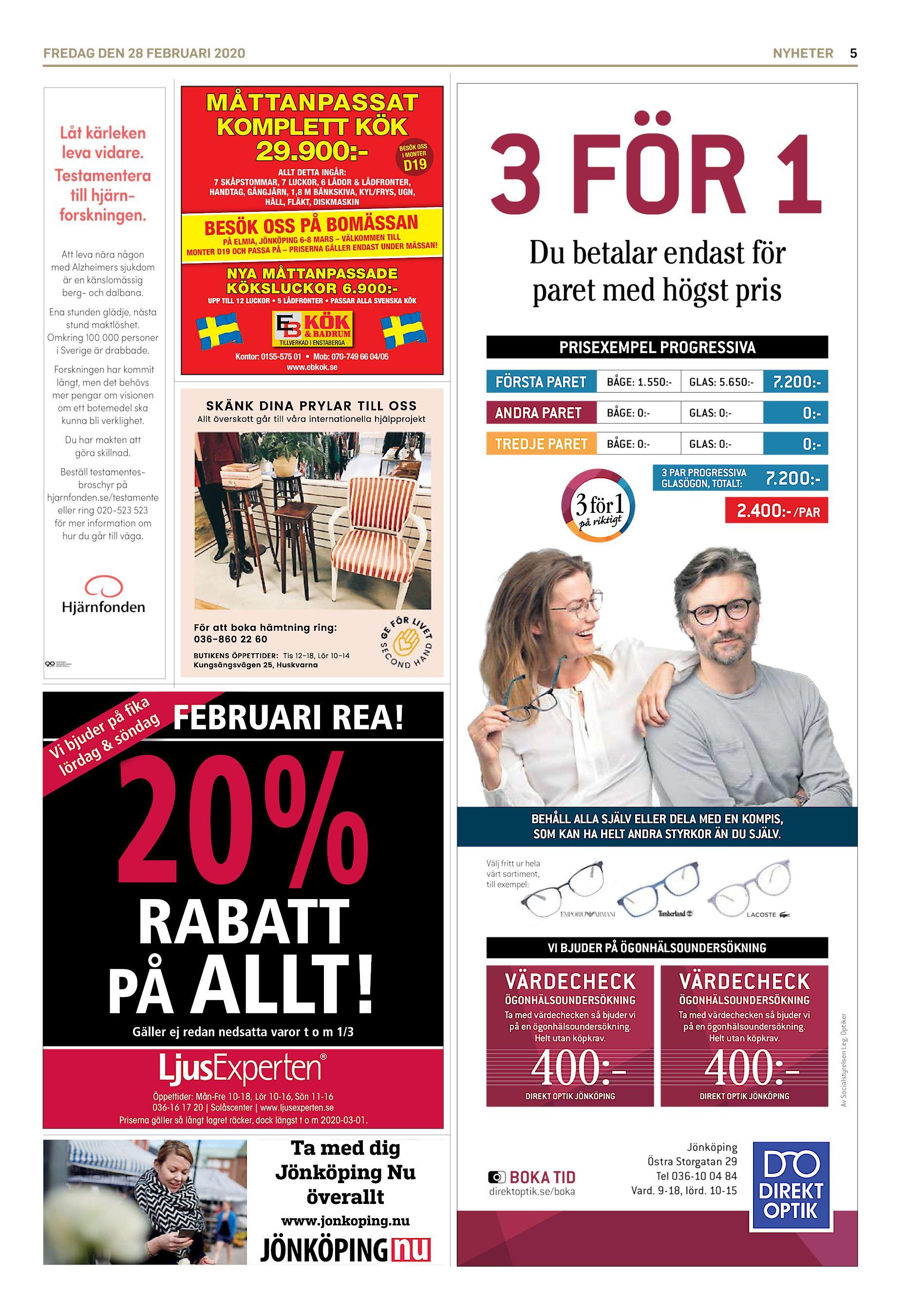 Aktuellt | Equmeniakyrkan Kaxholmen | Page 3