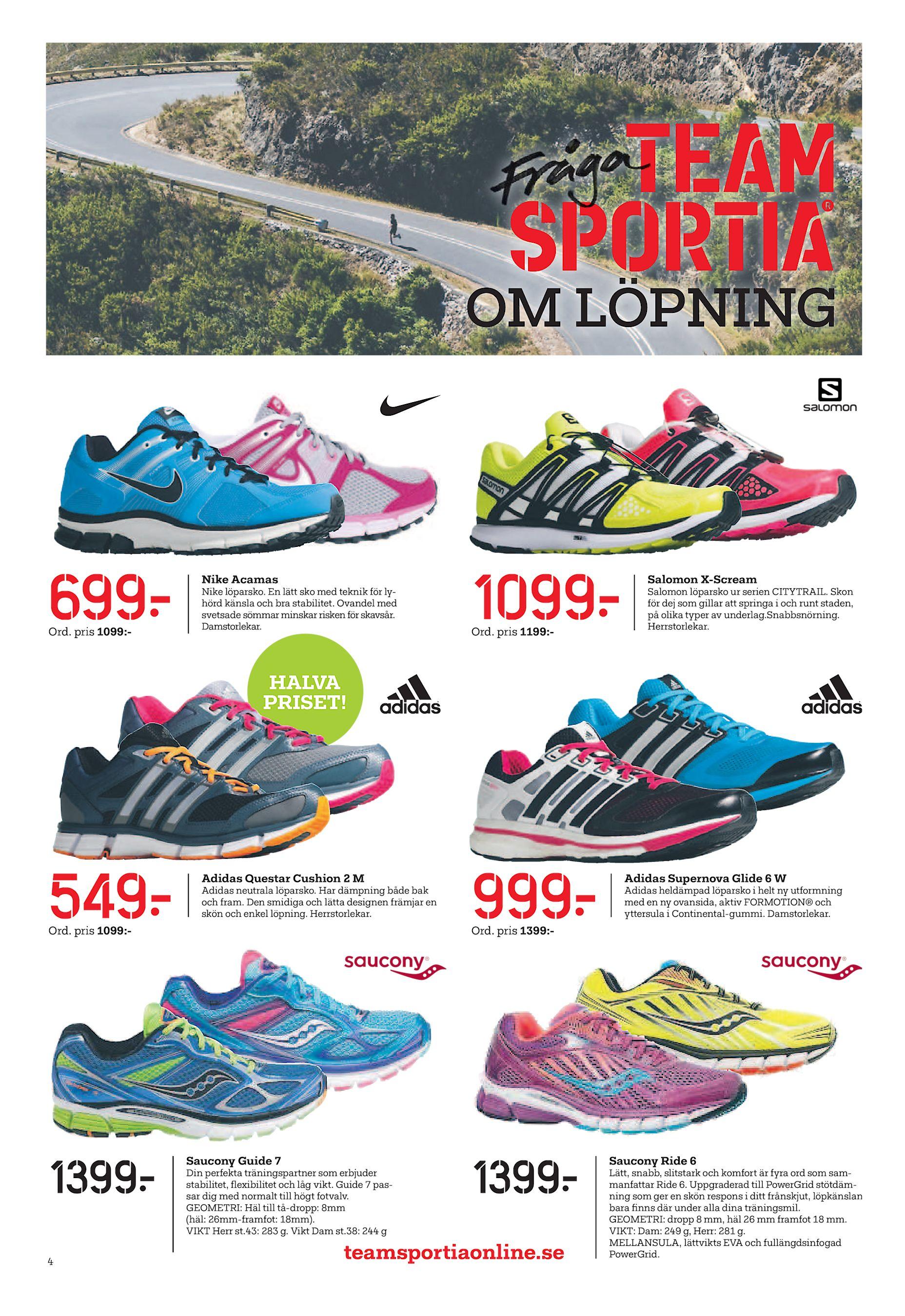 on sale a23fb 3d9b4 OM LÖPNING 699  Ord. pris 1099 - Nike Acamas Nike löparsko. En lätt sko med  teknik för lyhörd känsla och bra stabilitet. Ovandel med svetsade sömmar  minskar ...