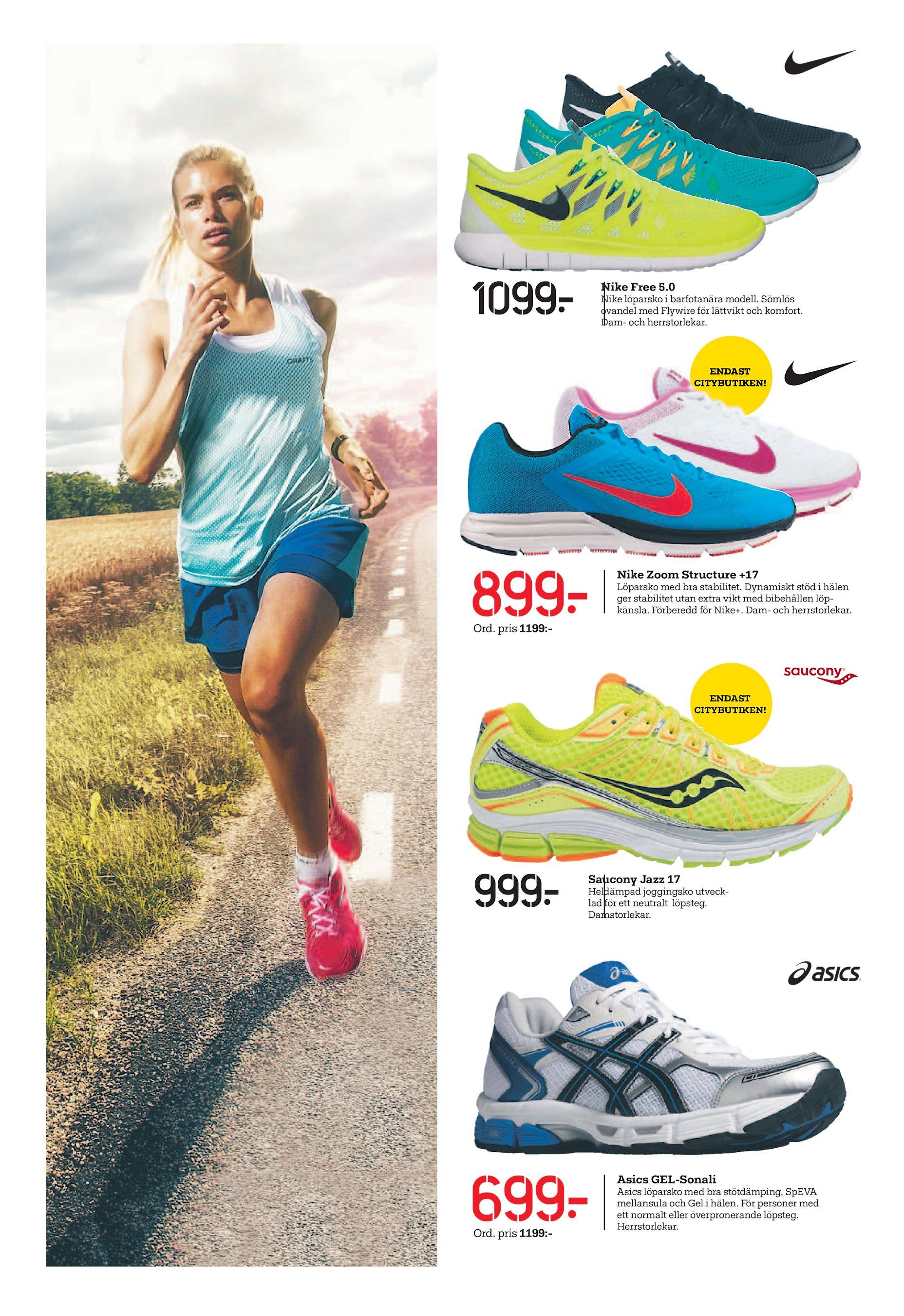 best service f256b 28edf 1099  Nike Free 5.0 Nike löparsko i barfotanära modell. Sömlös ovandel med  Flywire för lättvikt och komfort. Dam- och herrstorlekar. 7 ENDAST  CITYBUTIKEN!