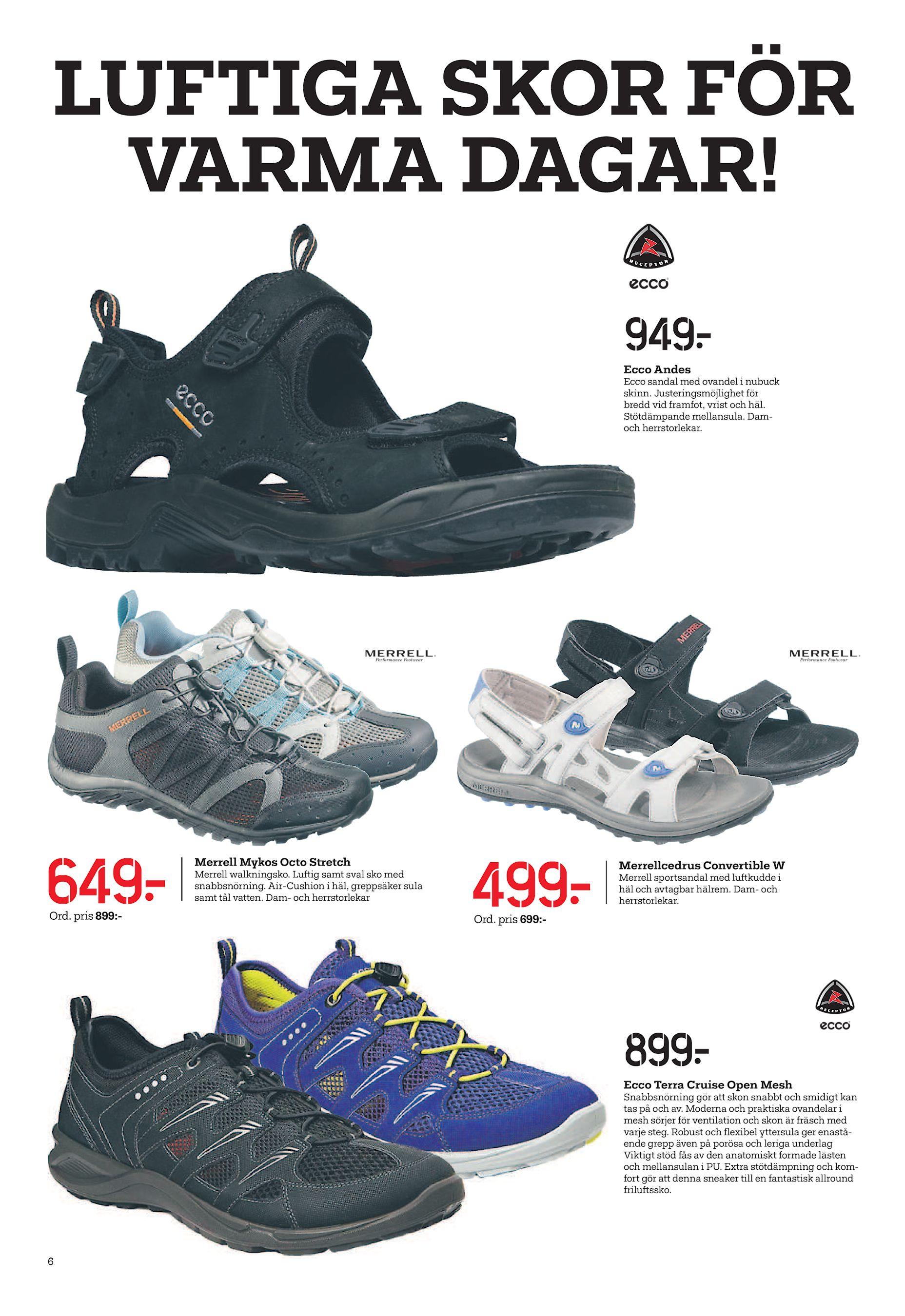 wholesale dealer 1e7ae 9489b Luftiga skor fÖr VarMa Dagar! 949  Ecco andes Ecco sandal med ovandel i  nubuck skinn. Justeringsmöjlighet för bredd vid framfot, vrist och häl.