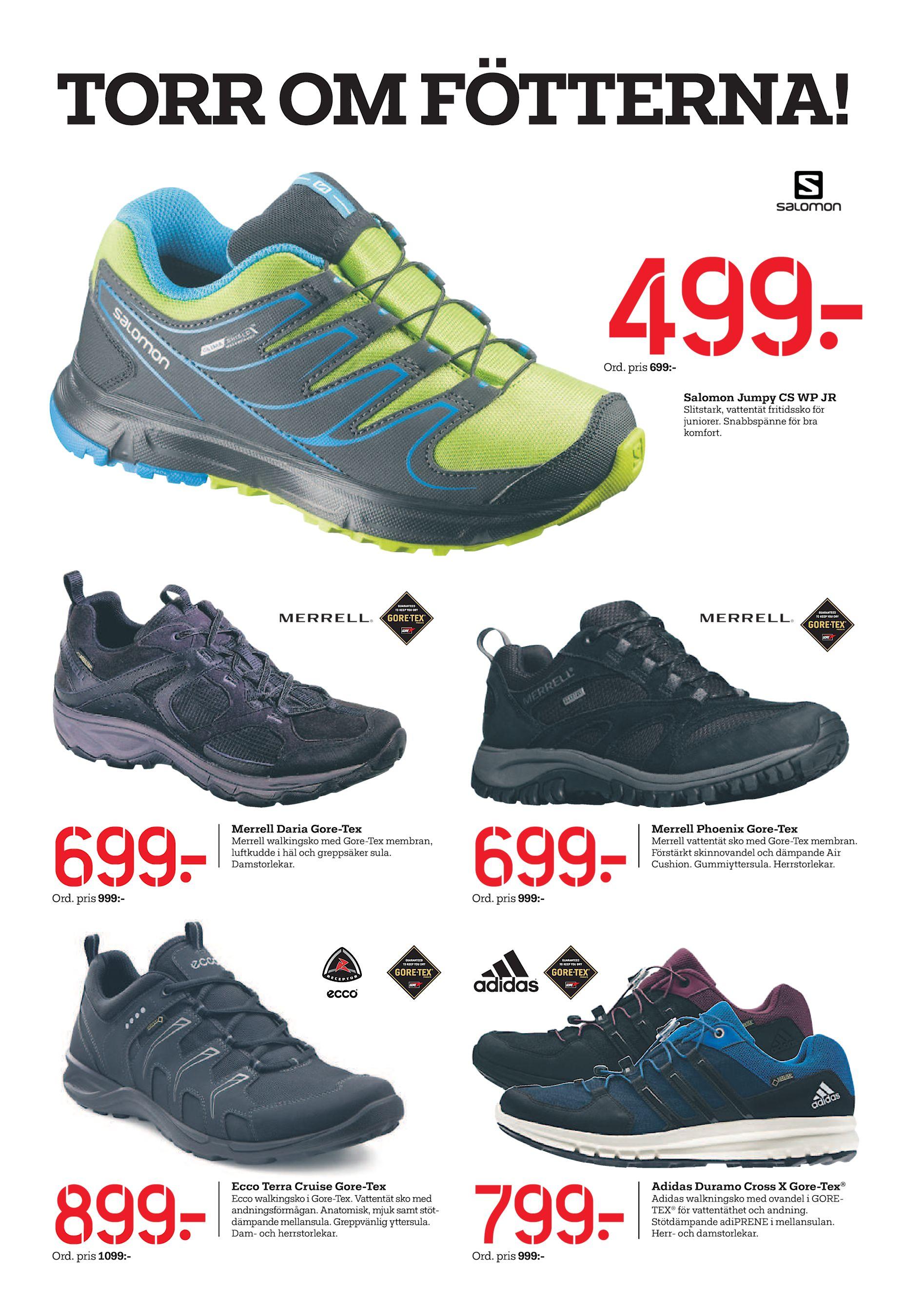 Snabbspänne för bra komfort. 699  Merrell Daria Gore-Tex Merrell walkingsko  med Gore-Tex membran b60407c2df677
