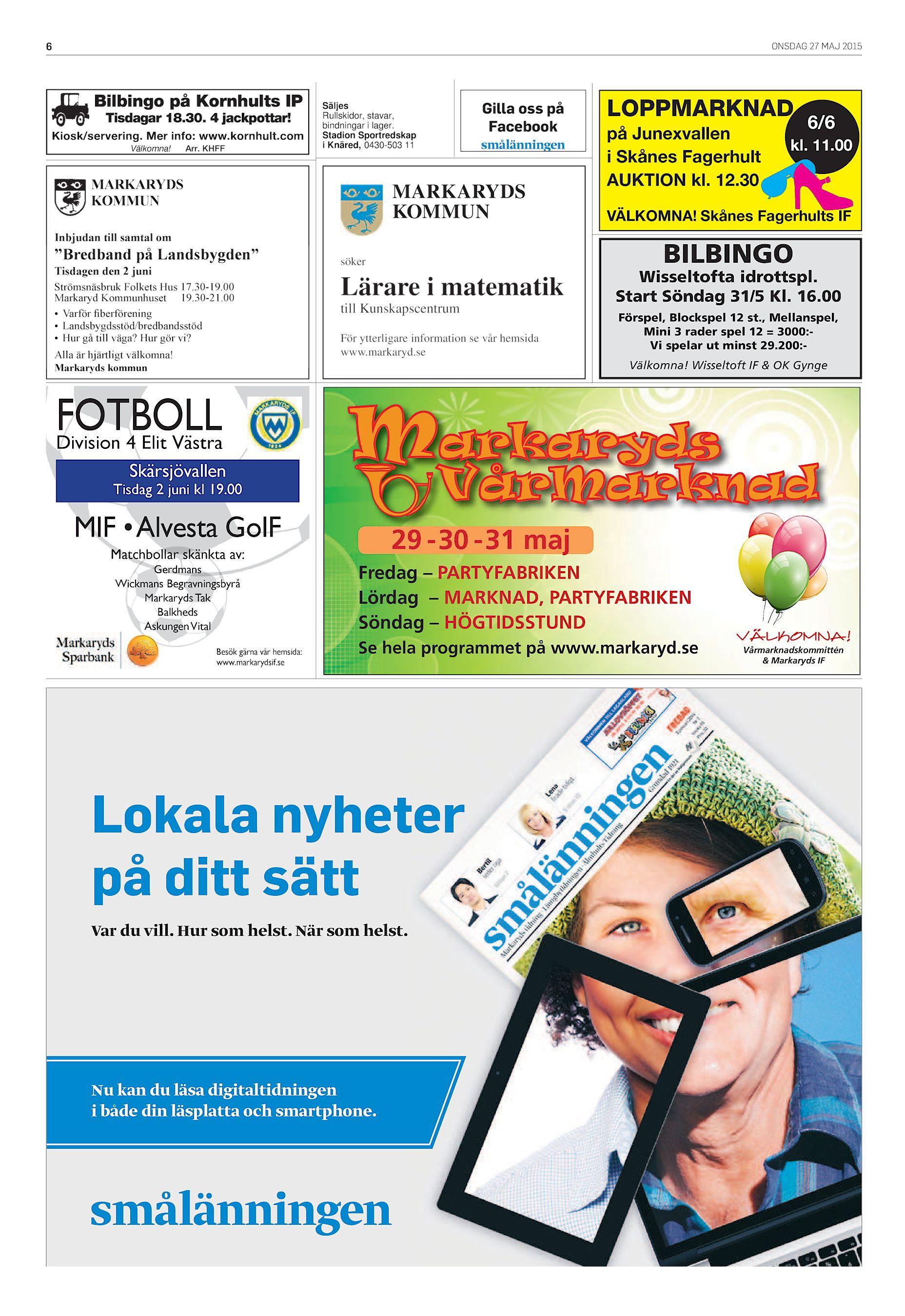 Veckobladet SV-20150527 (endast text) e14d5e4d05071