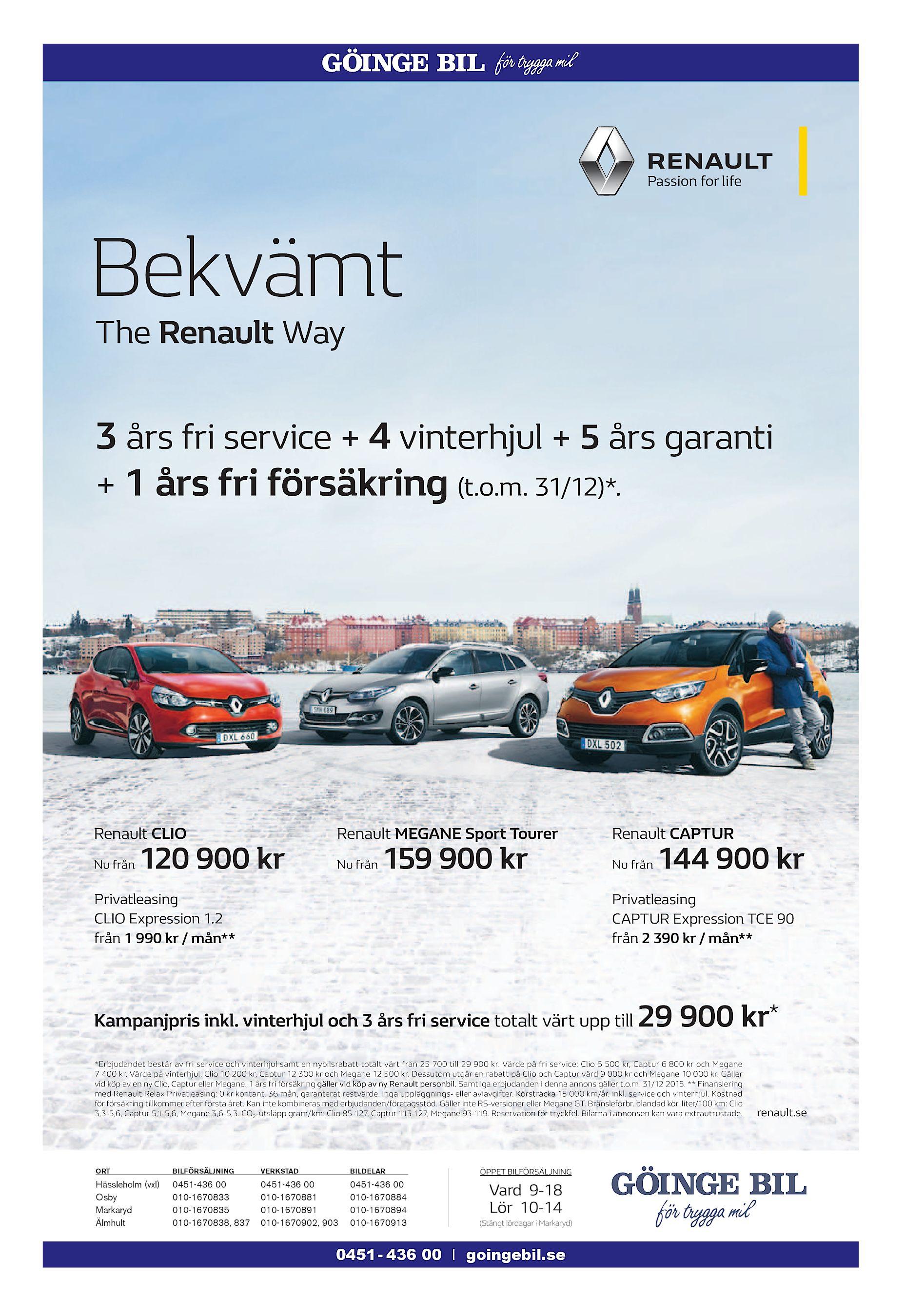 Renault ger dig 20 000 for din skrotbil
