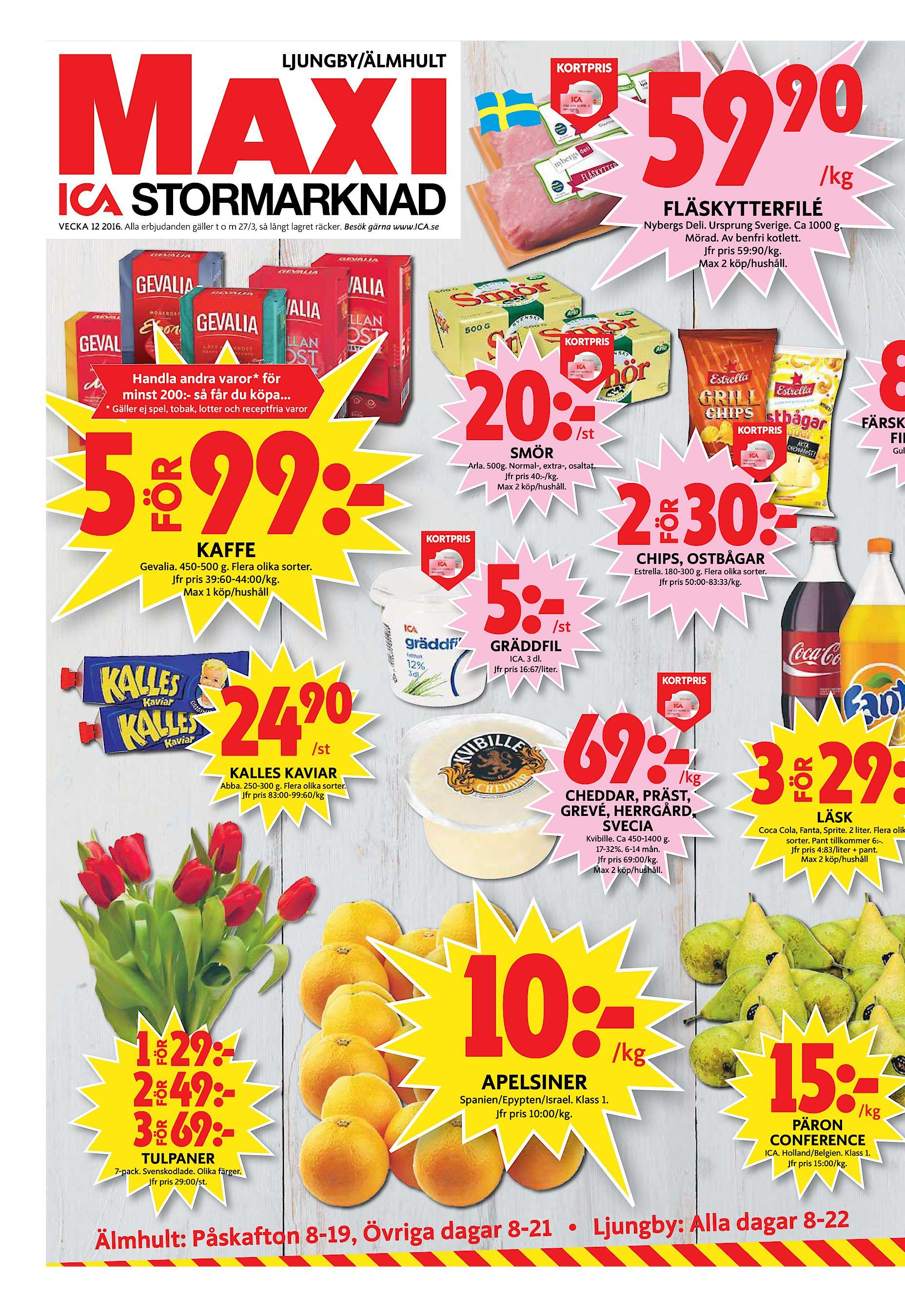 sale retailer 29f97 c22af LJUNGBY ÄLMHULT 59 90 KORTPRIS  kg FLÄSKYTTERFILÉ Nybergs Deli. Ursprung  Sverige. Ca 1000 g. Mörad. Av benfri kotlett. Jfr pris 59 90 kg. Max 2 köp  hushåll.