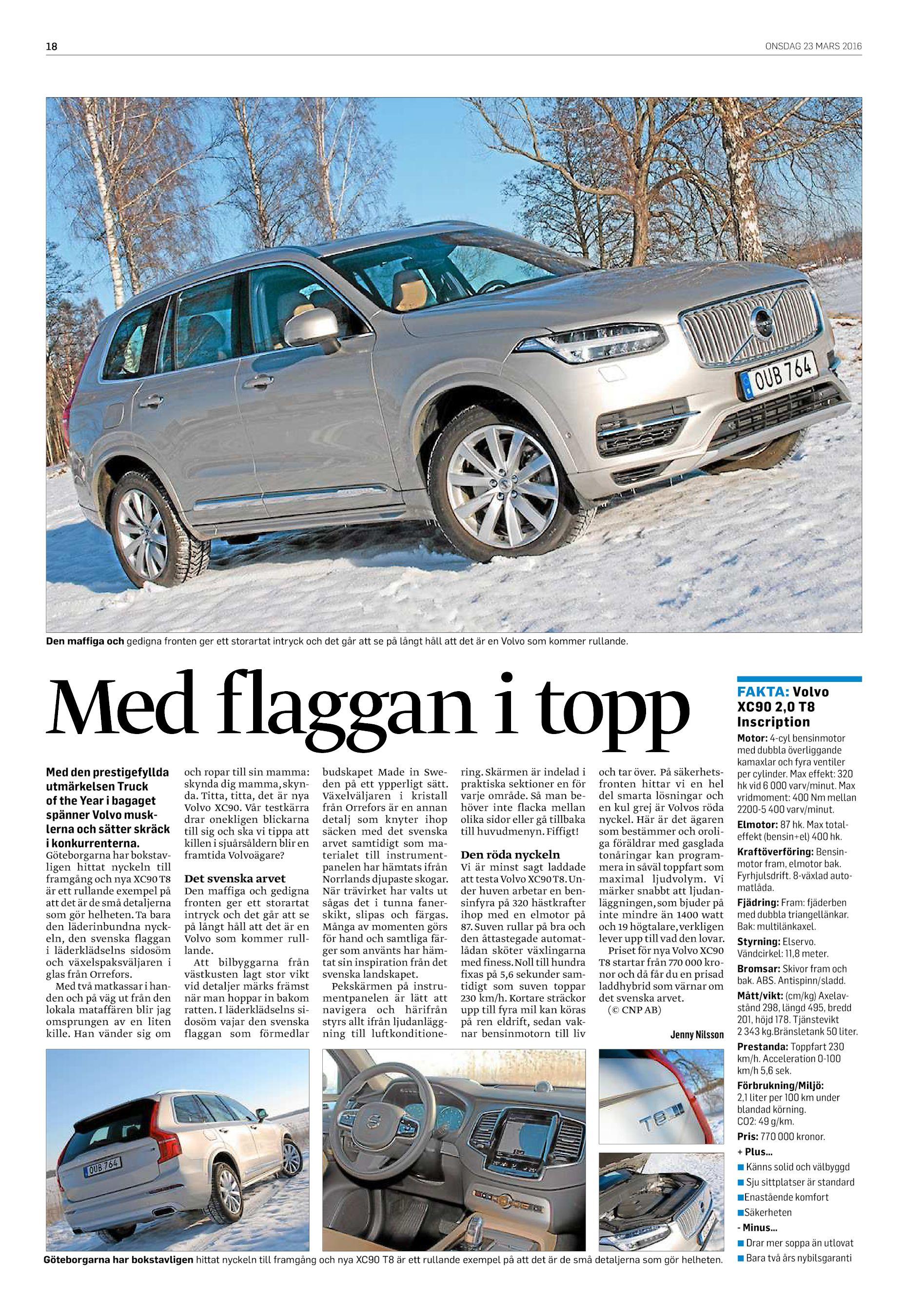 the best attitude d087d 75c9e ONSDAG 23 MARS 2016 18 Den maffiga och gedigna fronten ger ett storartat  intryck och det går att se på långt håll att det är en Volvo som kommer  rullande.