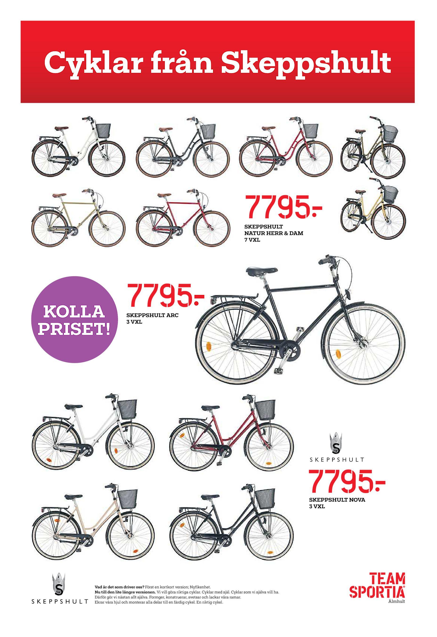 timeless design 5a703 b7291 Cyklar från Skeppshult 7795  SKEPPSHULT NATUR HERR   DAM 7 VXL KOLLA  PRISET! 7795  SKEPPSHULT ARC 3 VXL 7795  SKEPPSHULT NOVA 3 VXL Vad är det  som driver ...