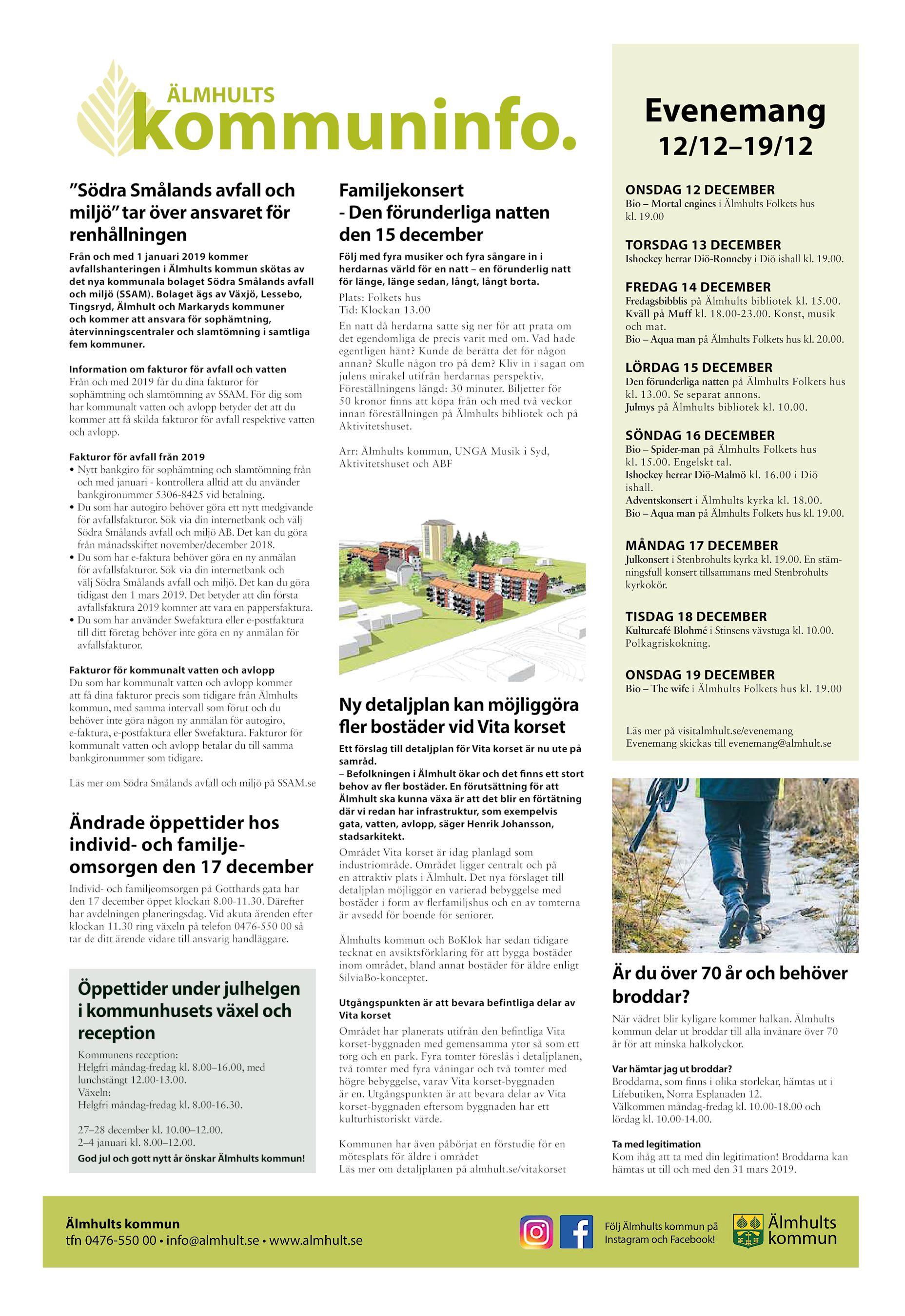 Genomlysning av ldreomsorgen i lmhults kommun