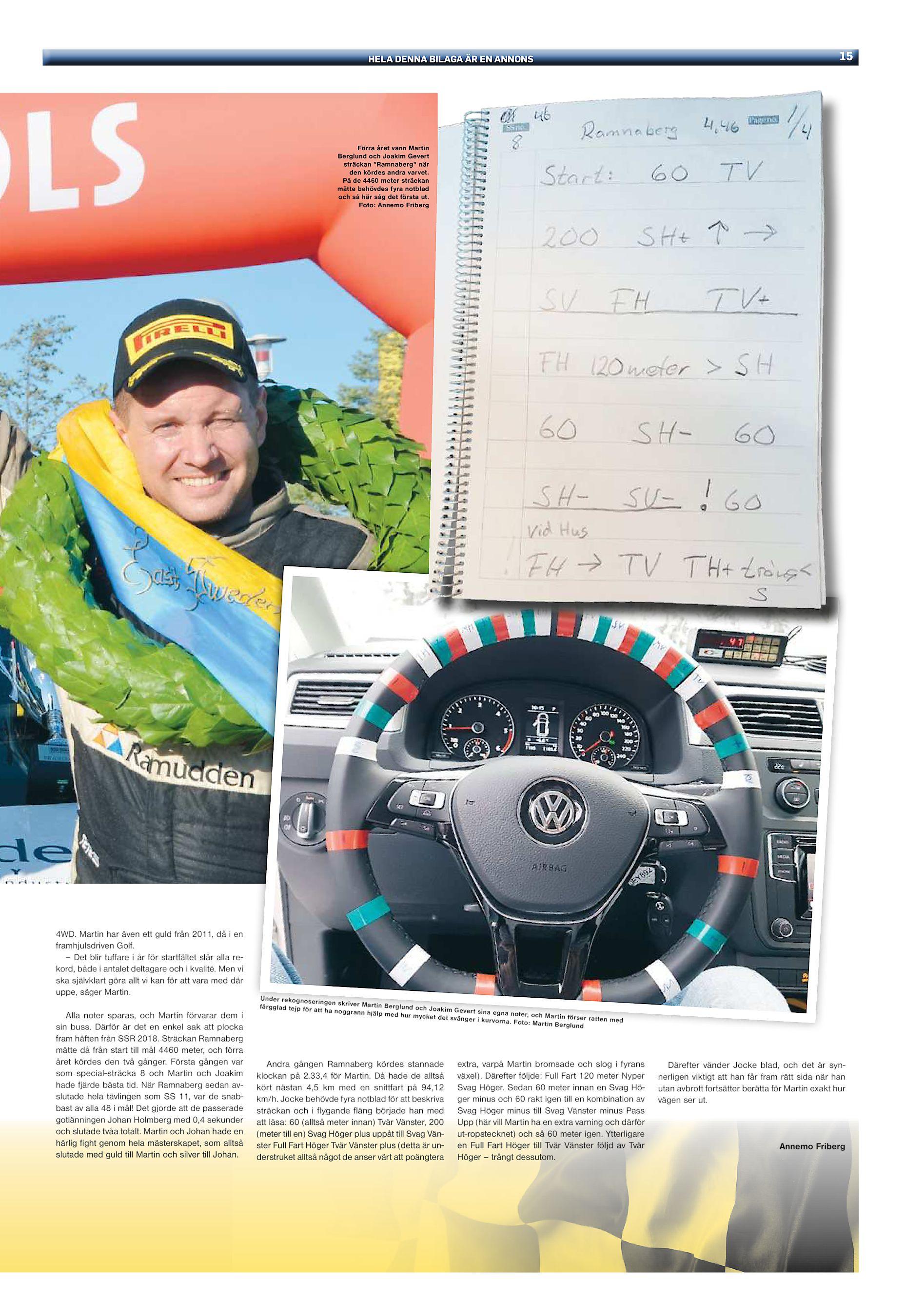 """d24ba8028753 HELA DENNA BILAGA ÄR EN ANNONS Förra året vann Martin Berglund och Joakim  Gevert sträckan """"Ramnaberg"""" när den kördes andra varvet. På de 4460 meter  sträckan ..."""