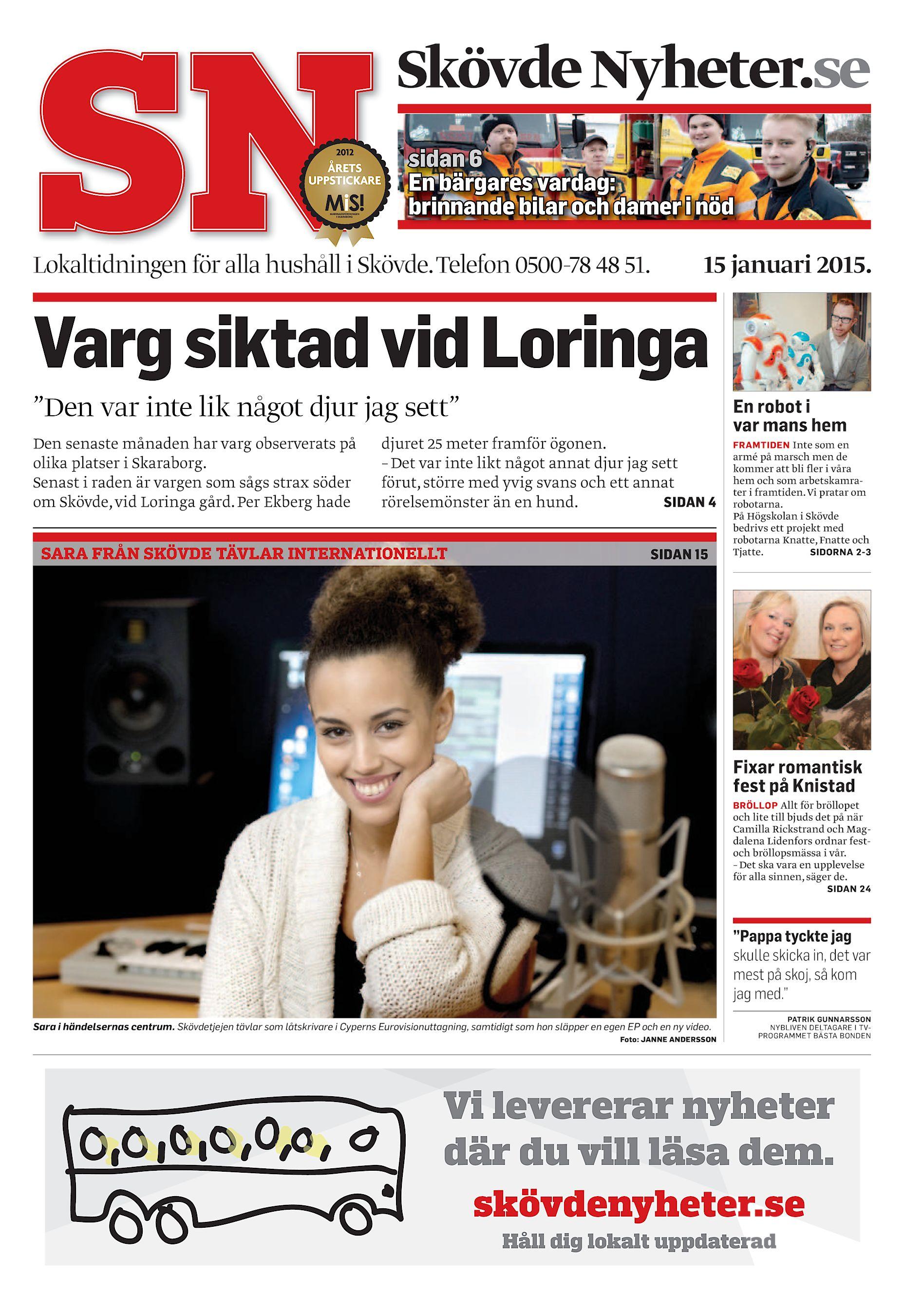 8f1c263c9def Skövde Nyheter.se sidan 6 En bärgares vardag: brinnande bilar och damer i  nöd Lokaltidningen för alla hushåll i Skövde. Telefon 0500-78 48 51.