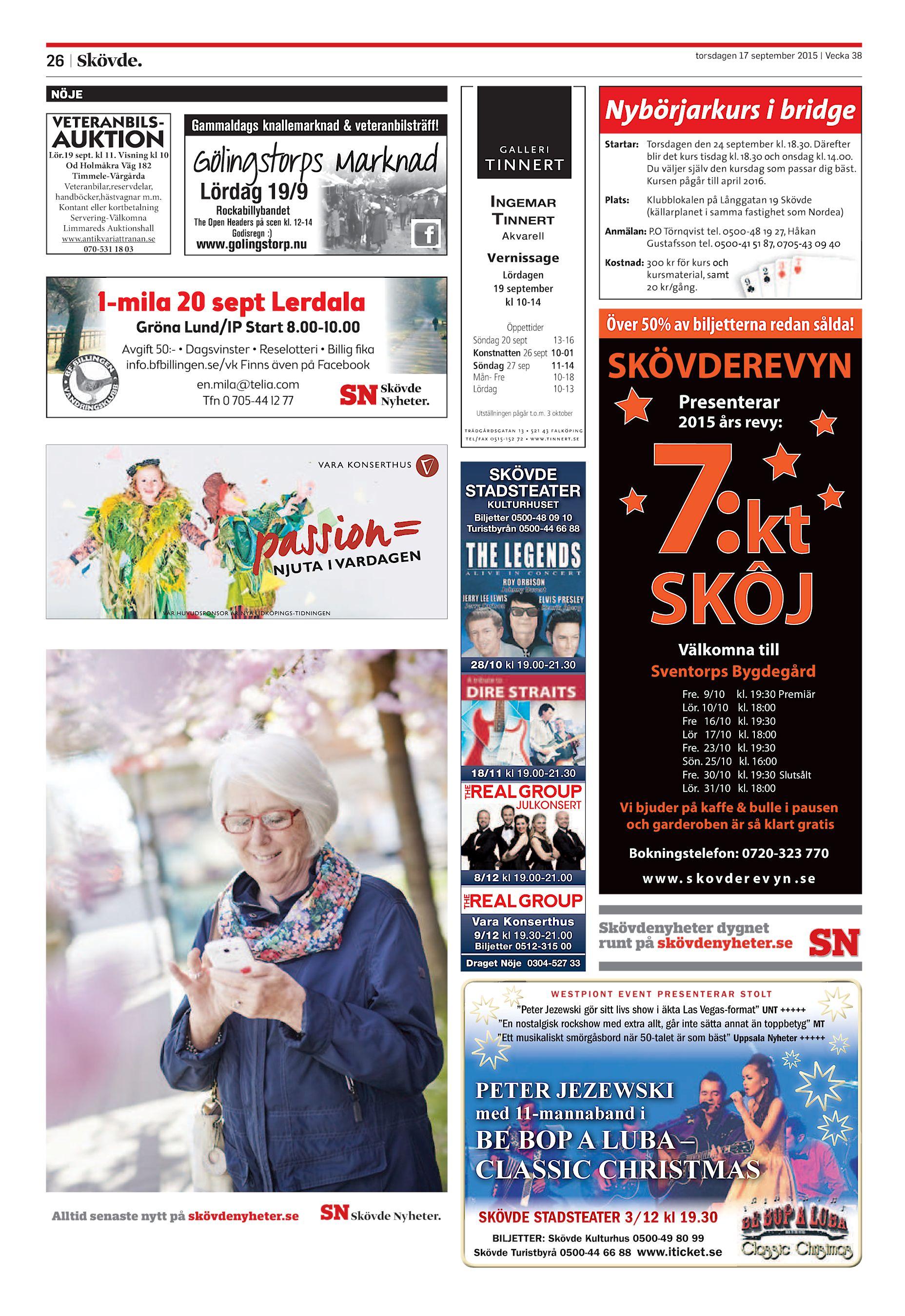 wholesale dealer a45e4 6c0ab Skövde Nyheter SN-20150917 (endast text)