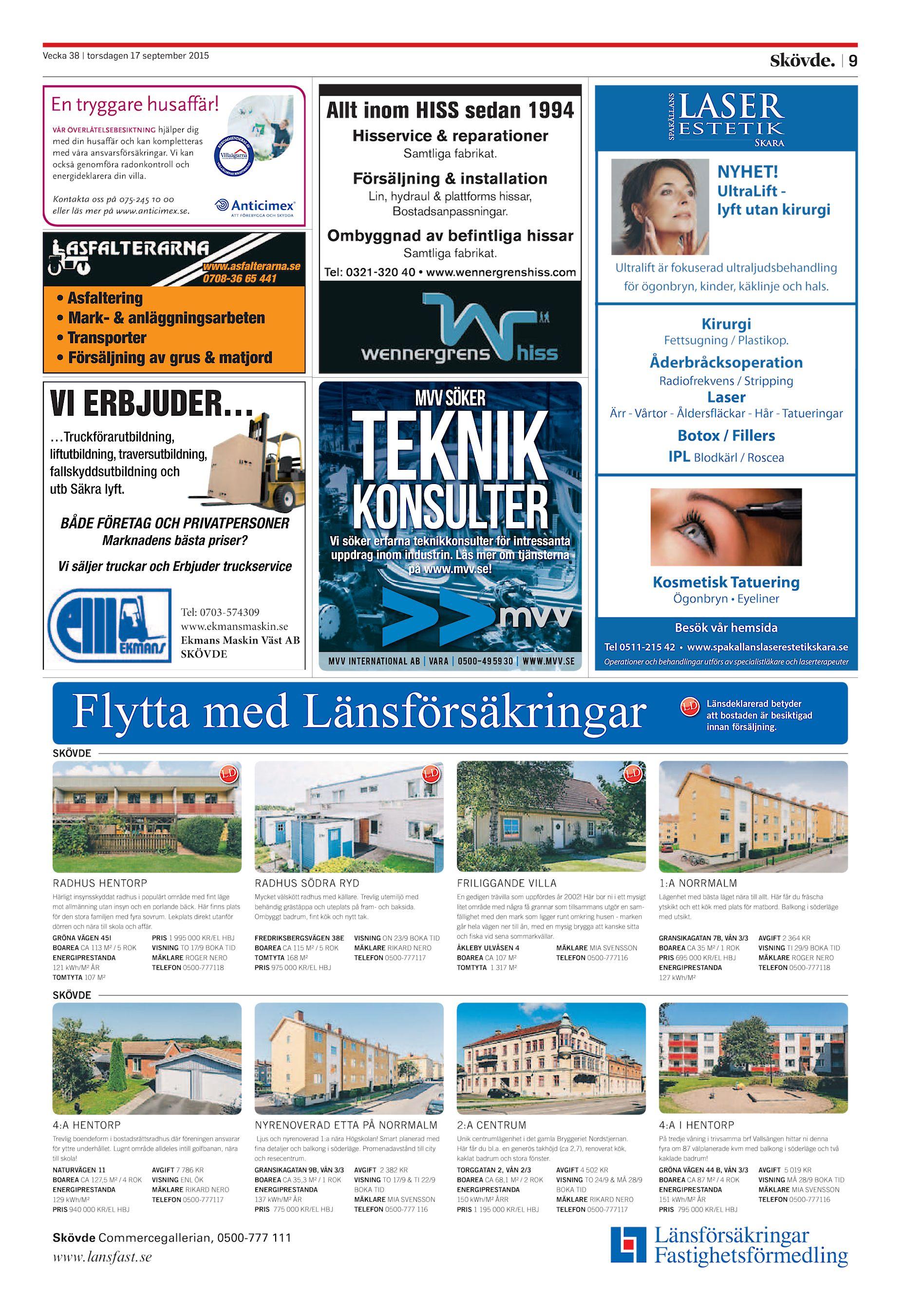 wholesale dealer e66e4 3f603 Skövde Nyheter SN-20150917 (endast text)