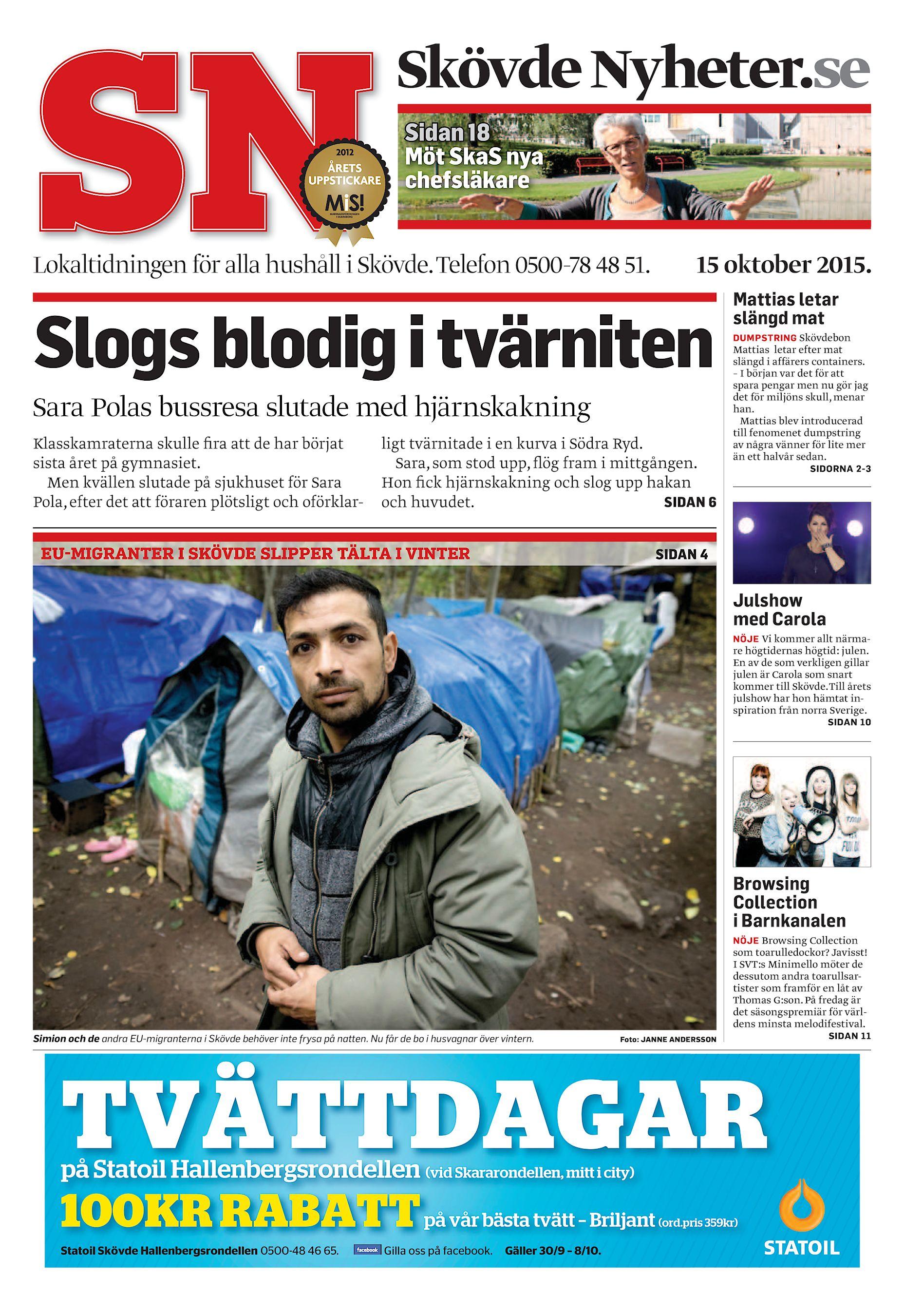 7040a734ca32 Skövde Nyheter.se Sidan 18 Möt SkaS nya chefsläkare Lokaltidningen för alla  hushåll i Skövde. Telefon 0500-78 48 51. 15 oktober 2015.
