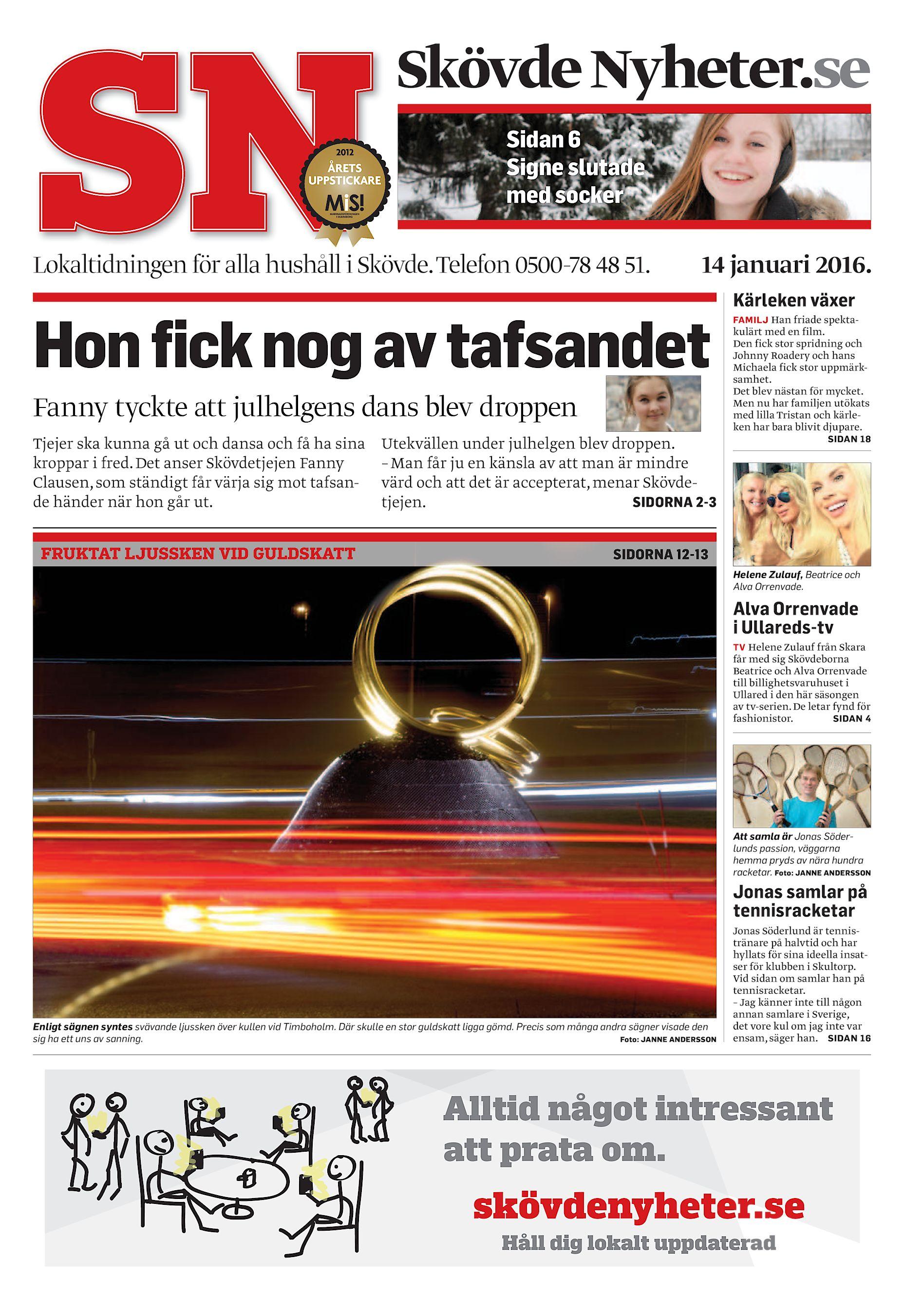 b1811d65a080 Skövde Nyheter.se Sidan 6 Signe slutade med socker Lokaltidningen för alla  hushåll i Skövde. Telefon 0500-78 48 51. 14 januari 2016. Kärleken växer  Hon fick ...