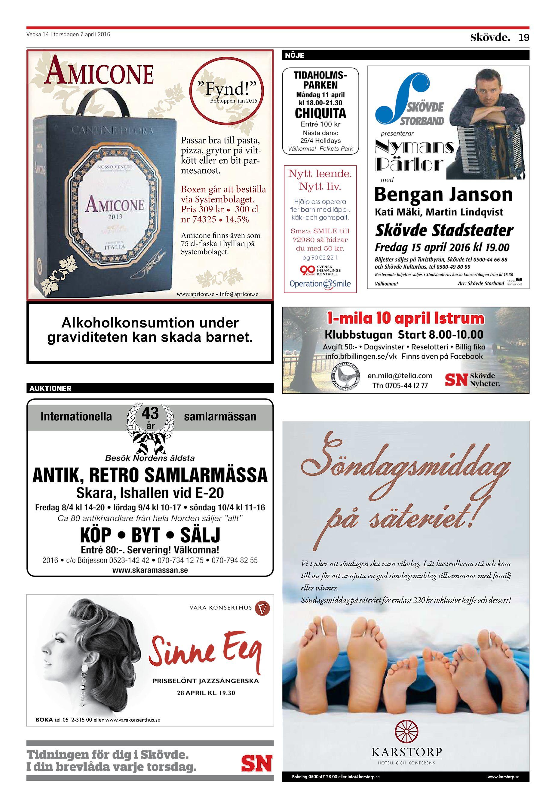 Skövde Nyheter SN-20160407 (endast text) cb9890d132c06