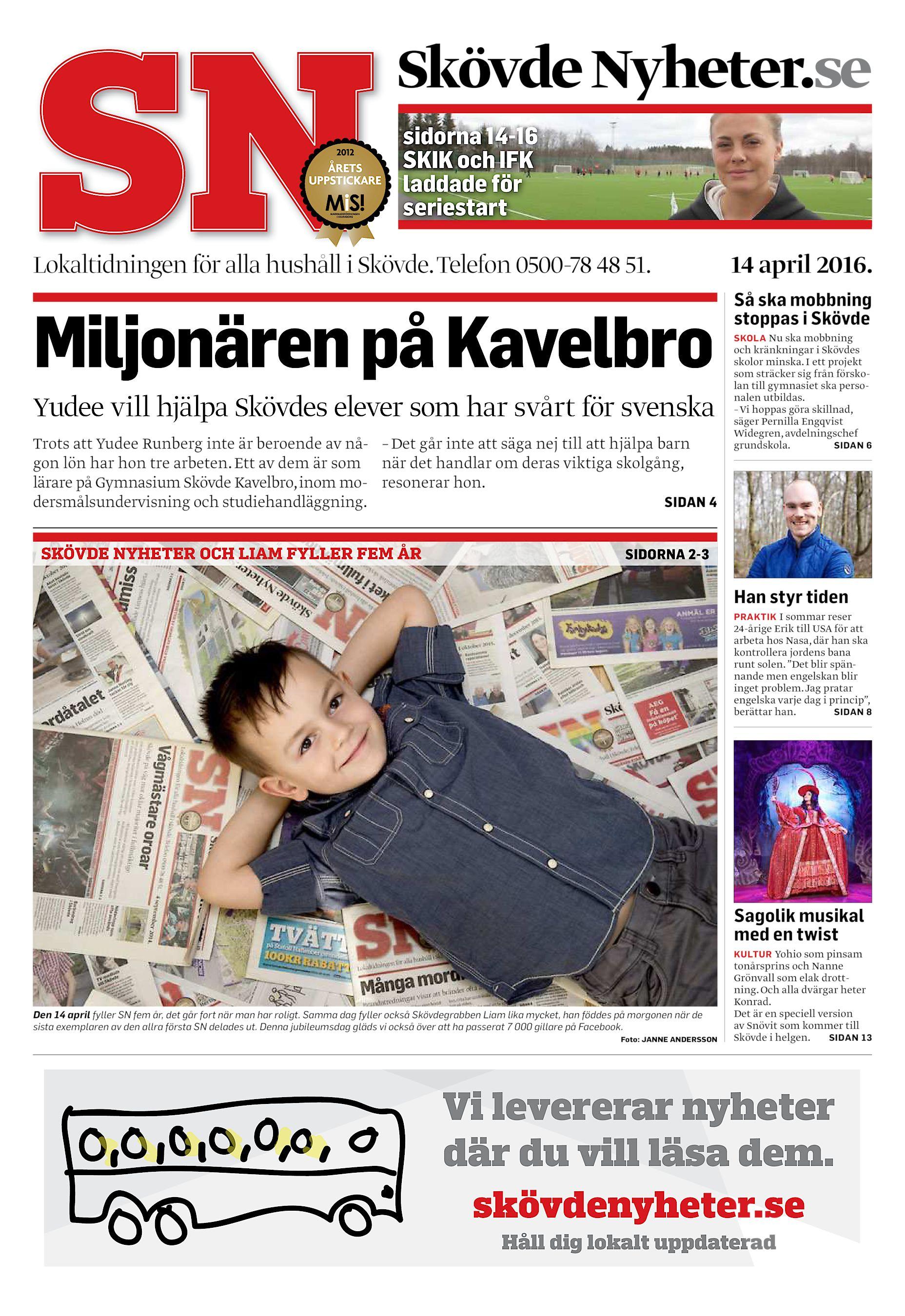 Skövde Nyheter.se sidorna 14-16 SKIK och IFK laddade för seriestart  Lokaltidningen för alla hushåll i Skövde. Telefon 0500-78 48 51. f81f661a44301