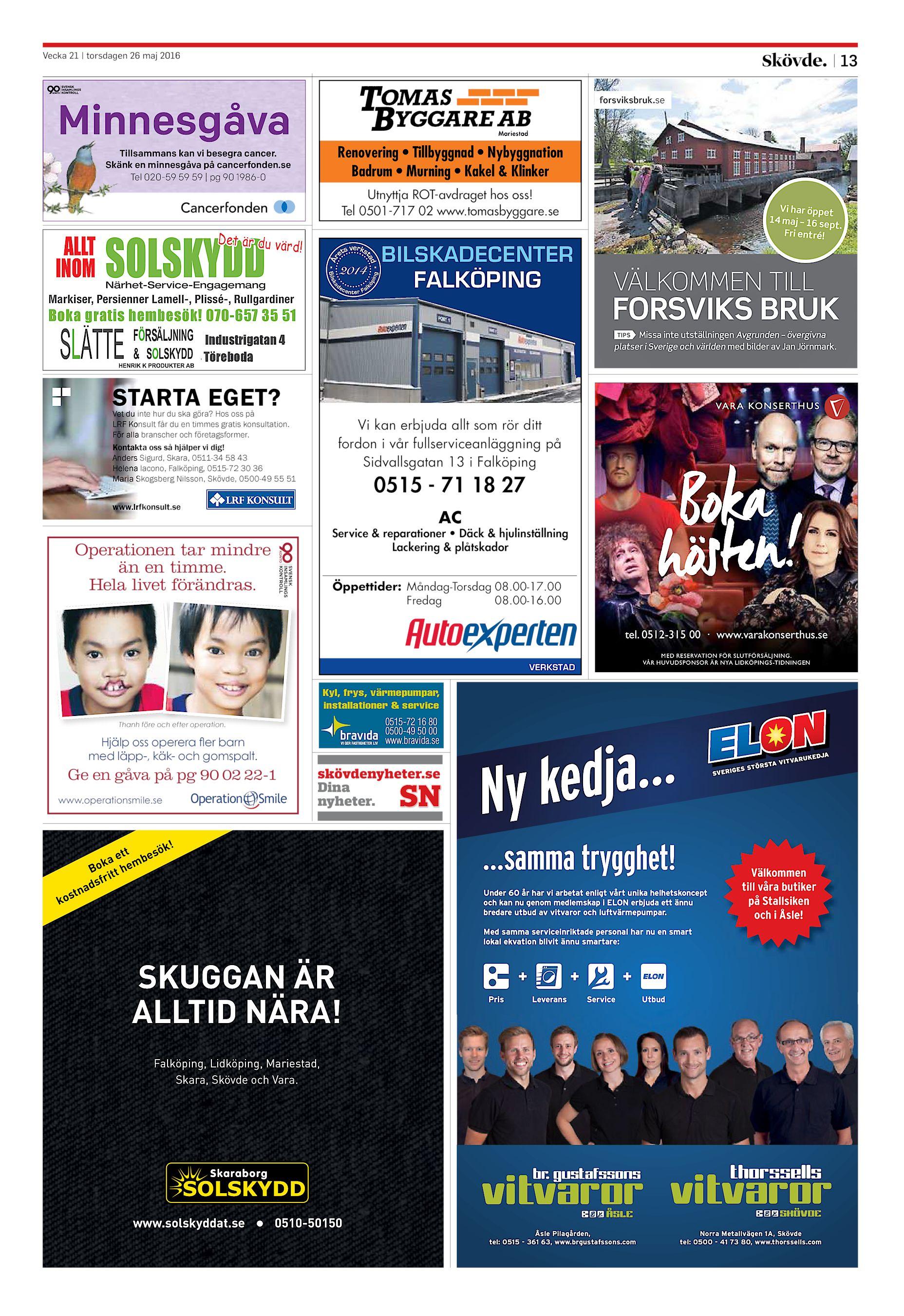 Skövde Nyheter SN-20160526 (endast text)