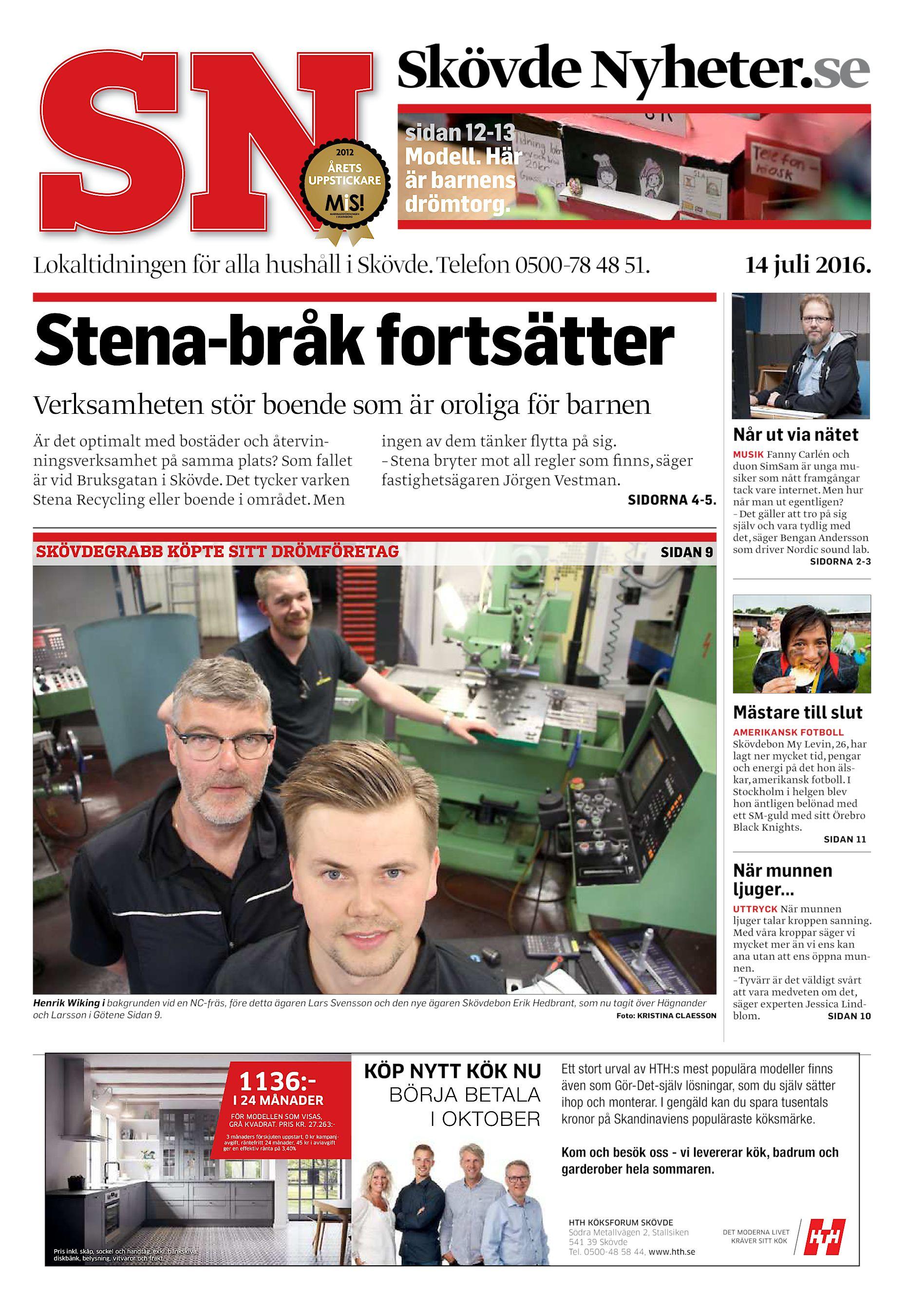 Skövde Nyheter SN-20160714 (endast text) 0cce188dd9817