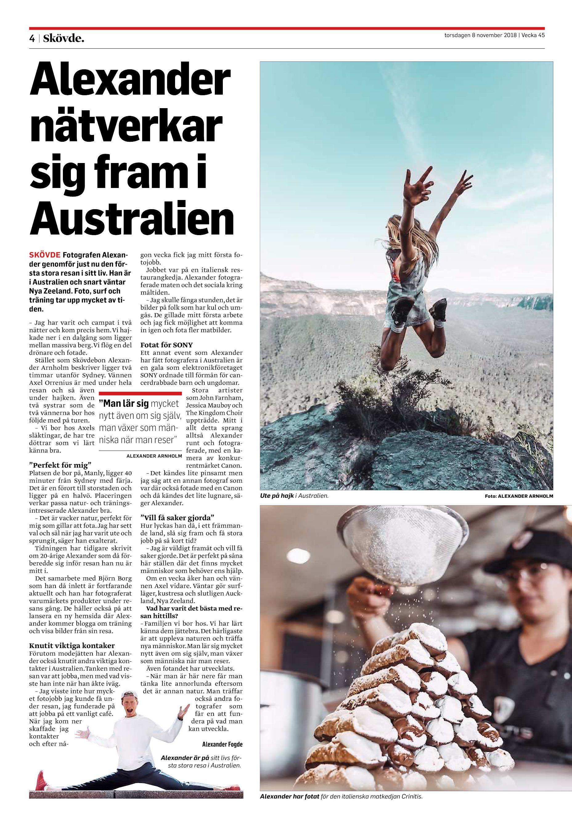 Skvde Nyheter SN-20181101 (endast text)