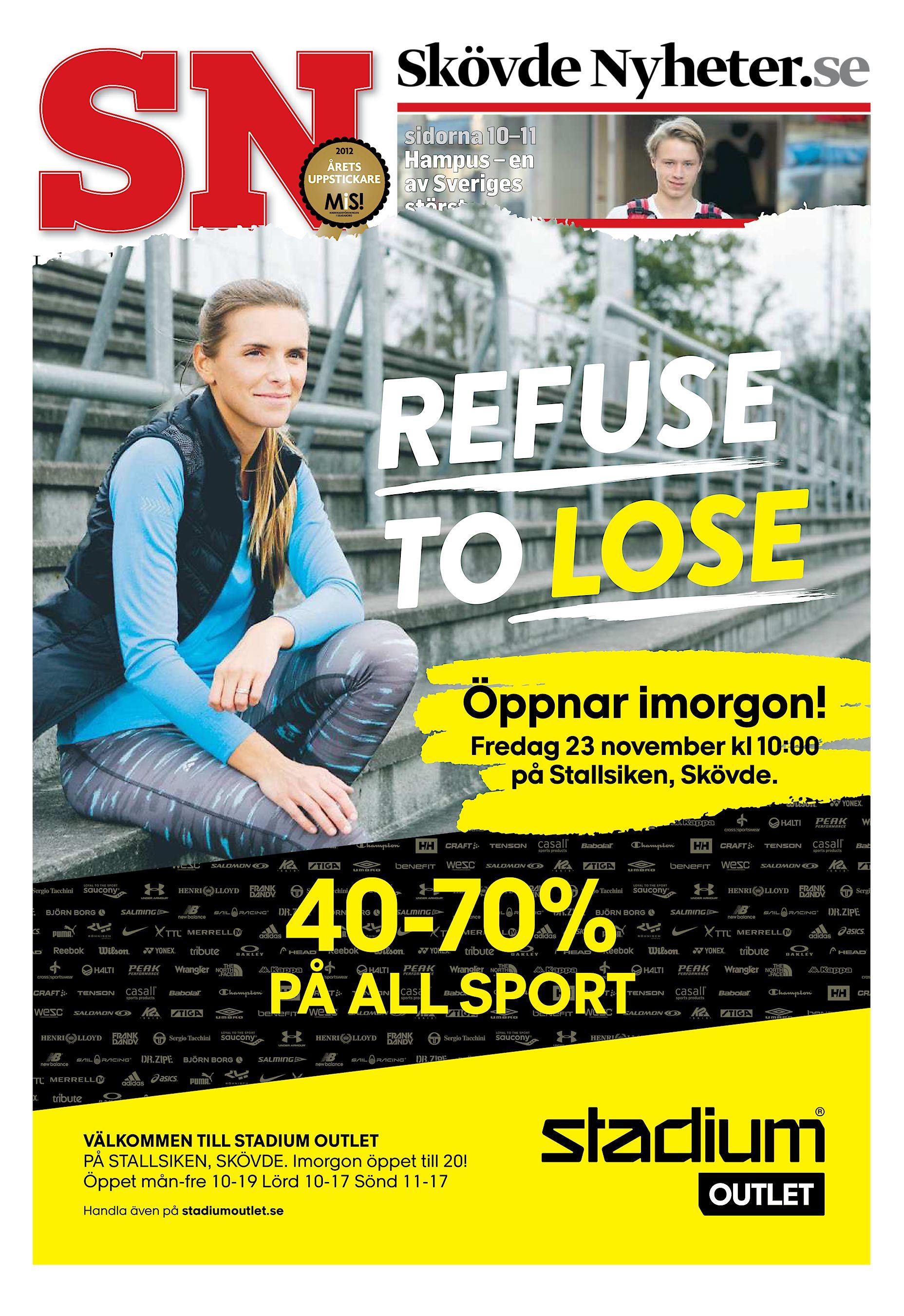Skövde Nyheter.se sidorna 10–11 Hampus – en av Sveriges största  Lokaltidningen för alla hushåll i Skövde. Telefon 0500-78 48 51. 22  november 2018. 89944696e3df6