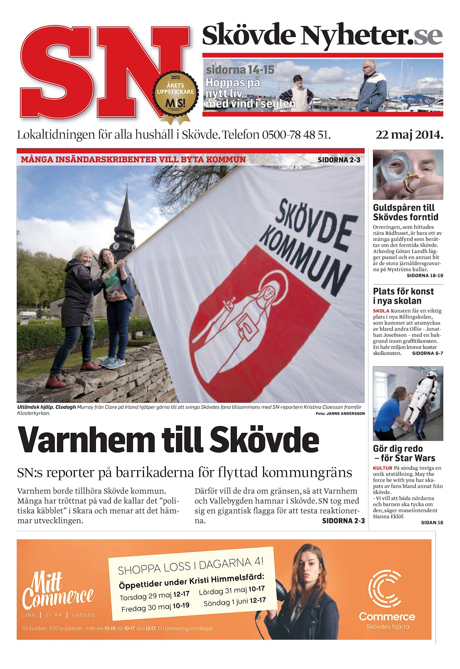 c8e269a4fd3 Skövde Nyheter SN-20140522 (endast text)