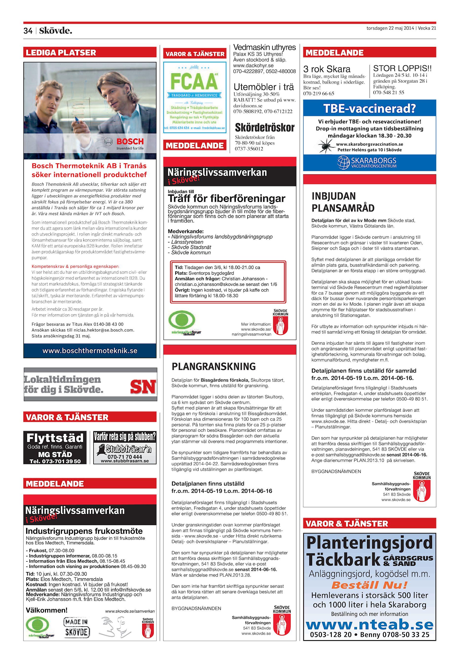 Skövde Nyheter SN-20140522 (endast text) 1a3b138f4d7a9