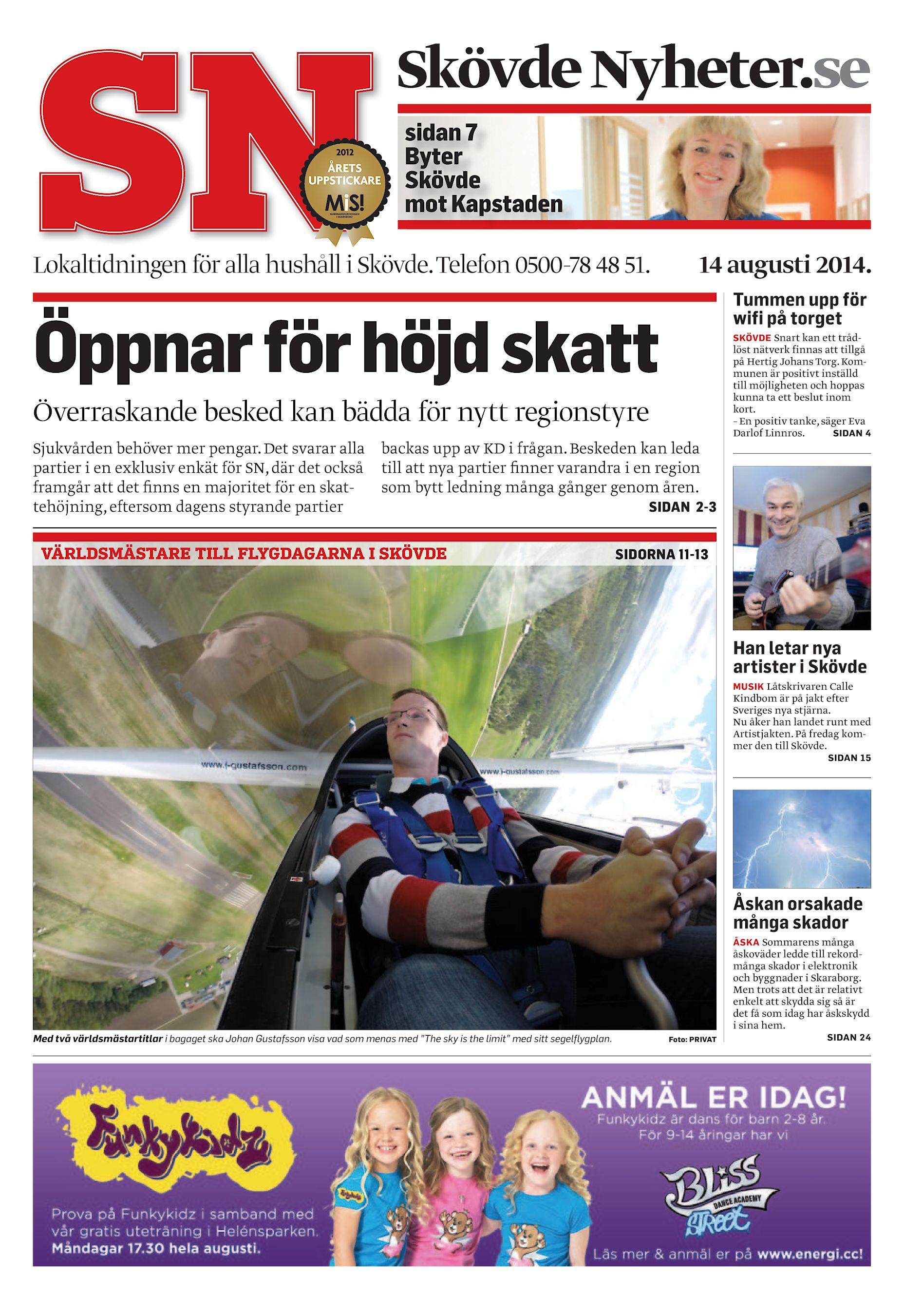 Skövde Nyheter SN-20140814 (endast text) a8aec300ae313
