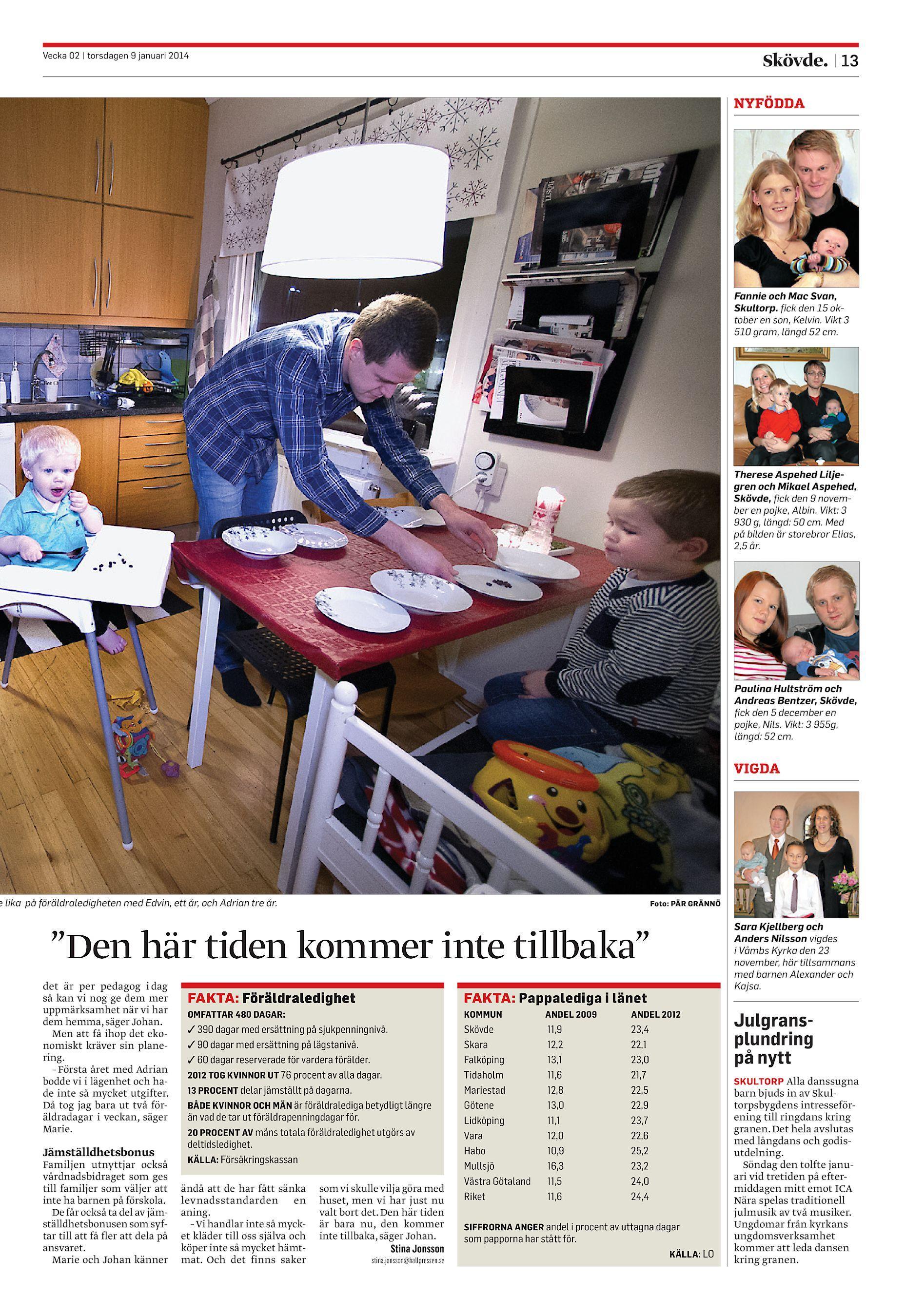 Skövde Nyheter SN-20140109 (endast text) ec19f30db3b6e
