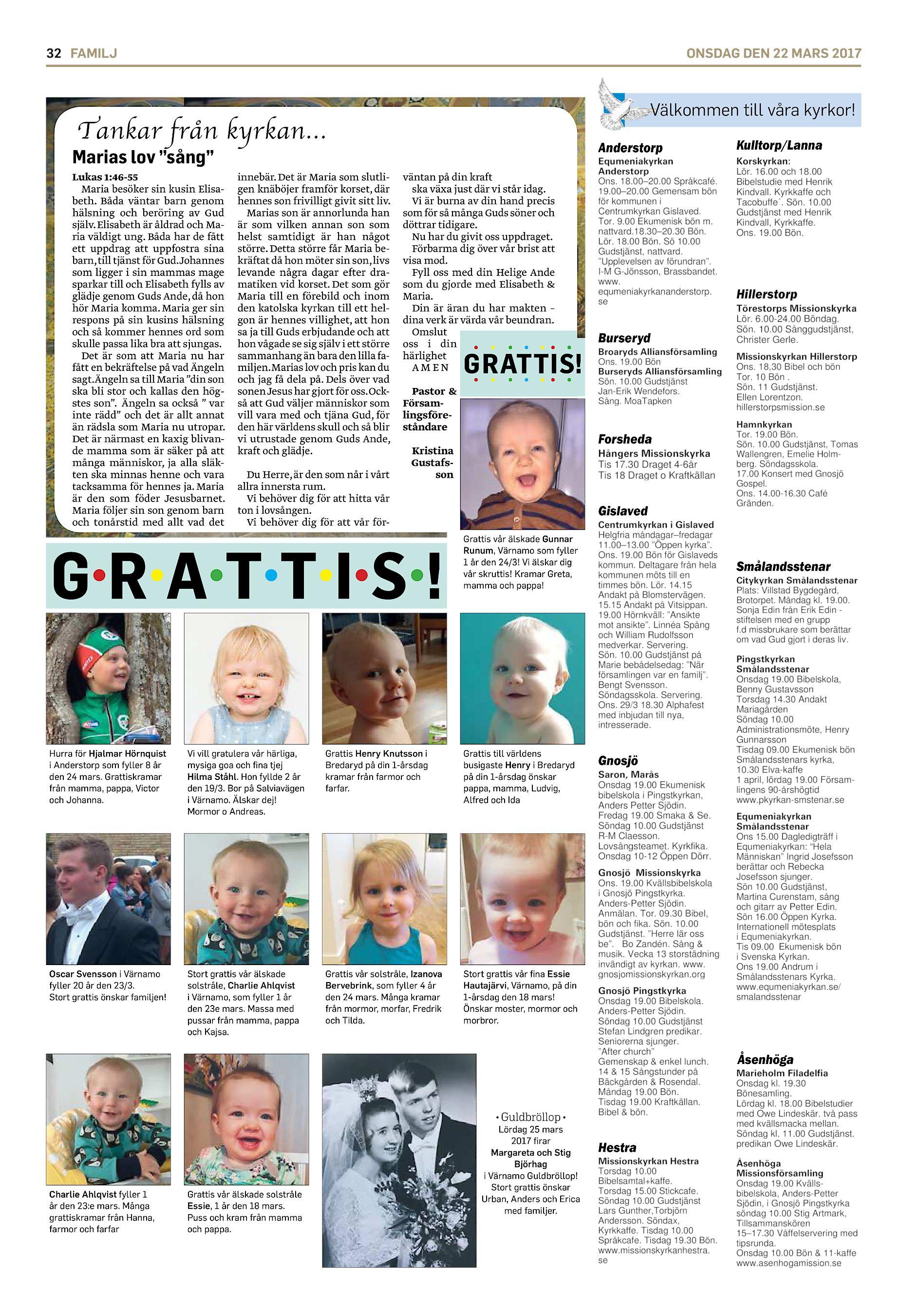 Maria Sandtjrn, Lycksvgen 16A, Anderstorp | garagesale24.net