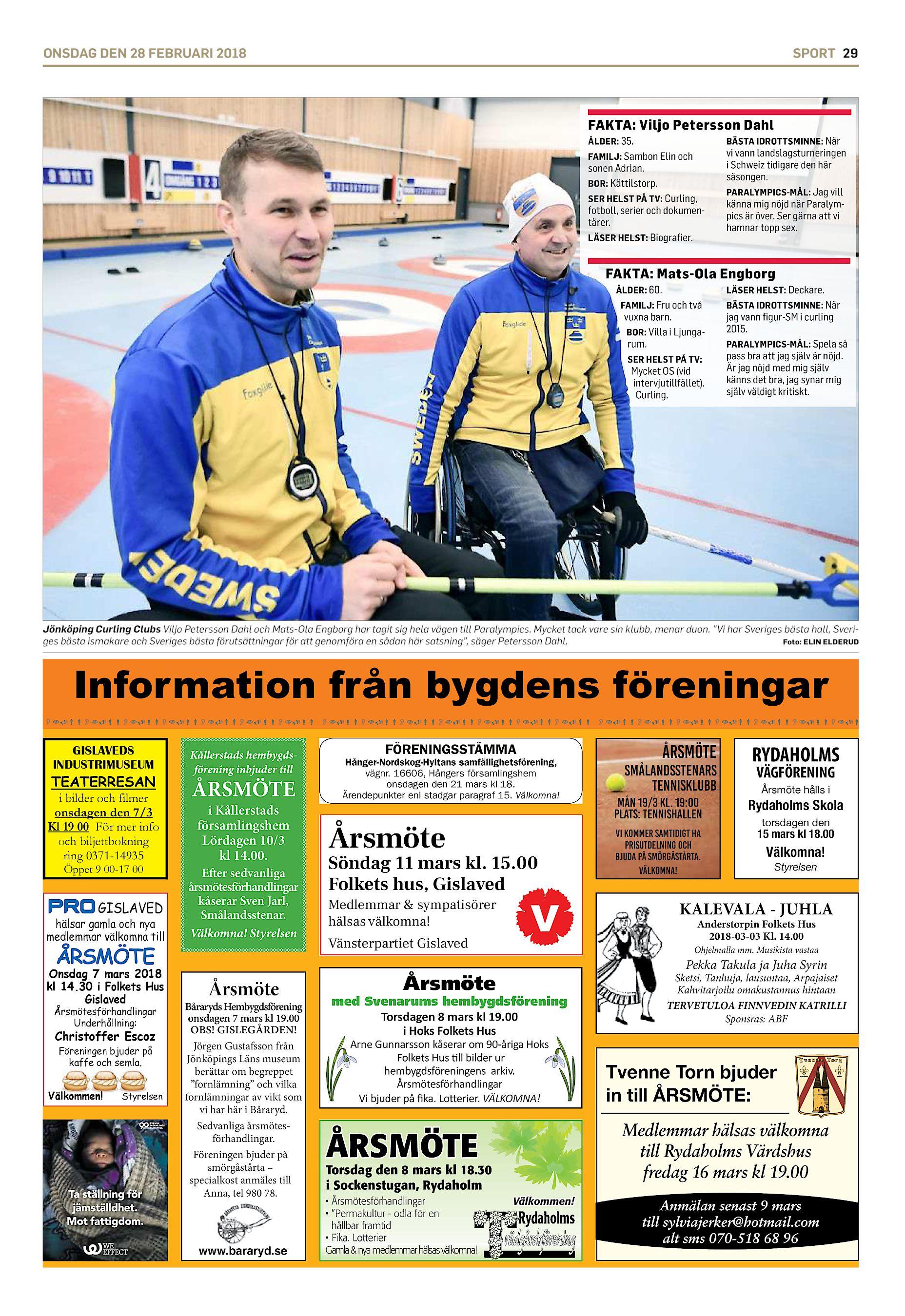 d29a649eb7f BÄSTA IDROTTSMINNE: När FAMILJ: Sambon Elin och vi vann  landslagsturneringen i Schweiz tidigare den här säsongen. PARALYMPICS-MÅL:  Jag vill ...