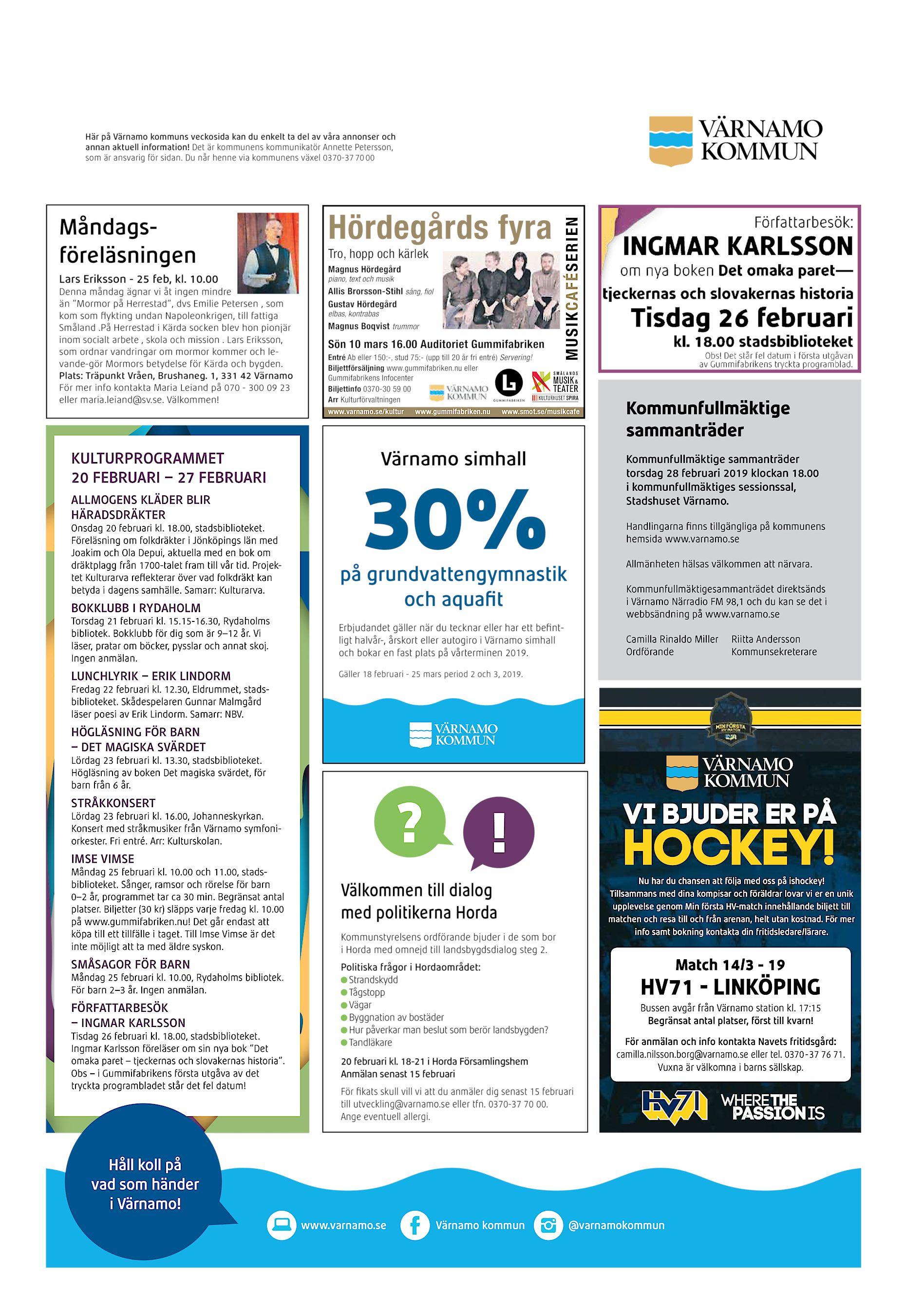 Måndagsföreläsningen Lars Eriksson - 25 feb 7609d52d4f2a2