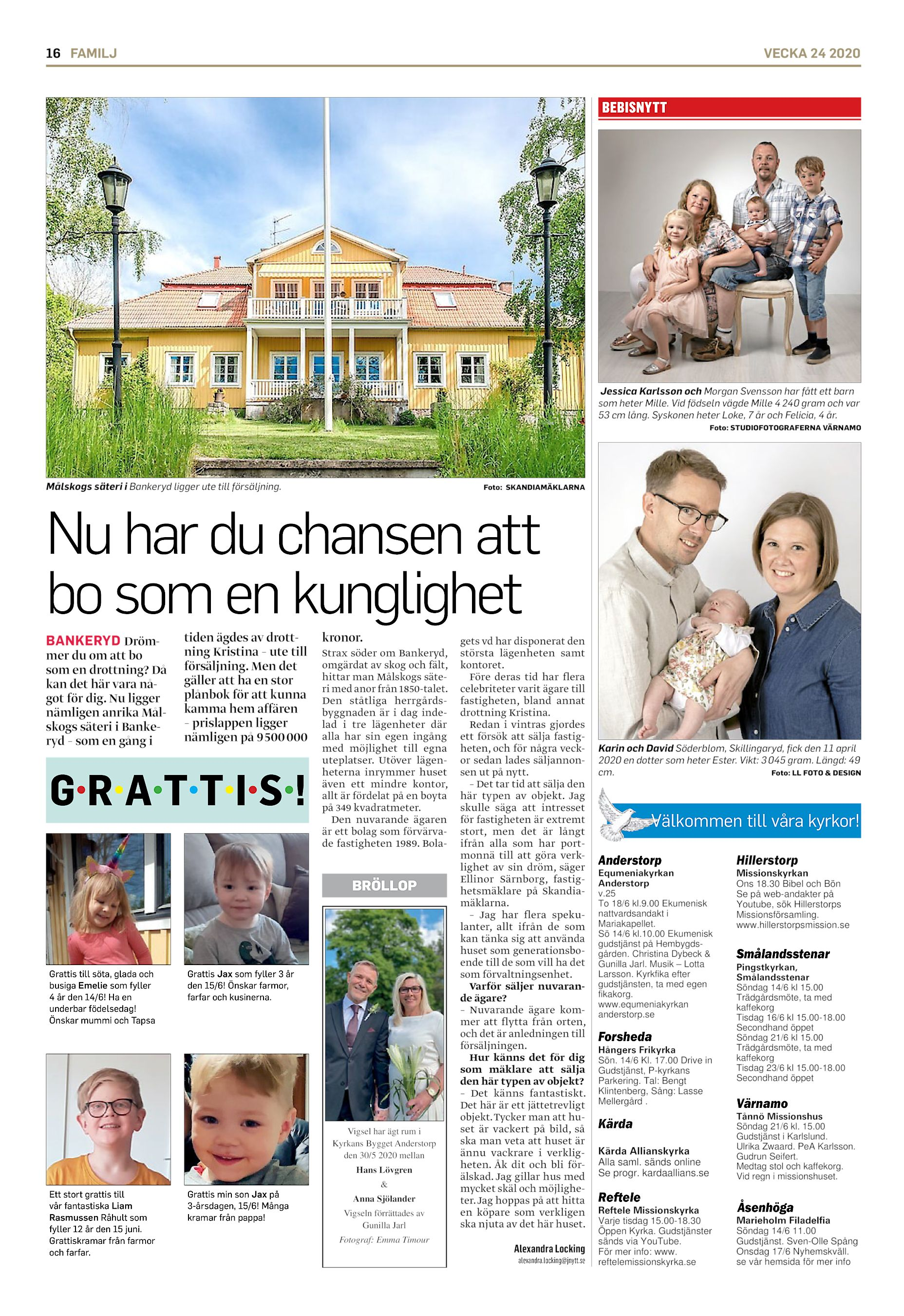 Pr Lundberg, 39 r i Forsheda p Kolabo 1 - telefon, lder