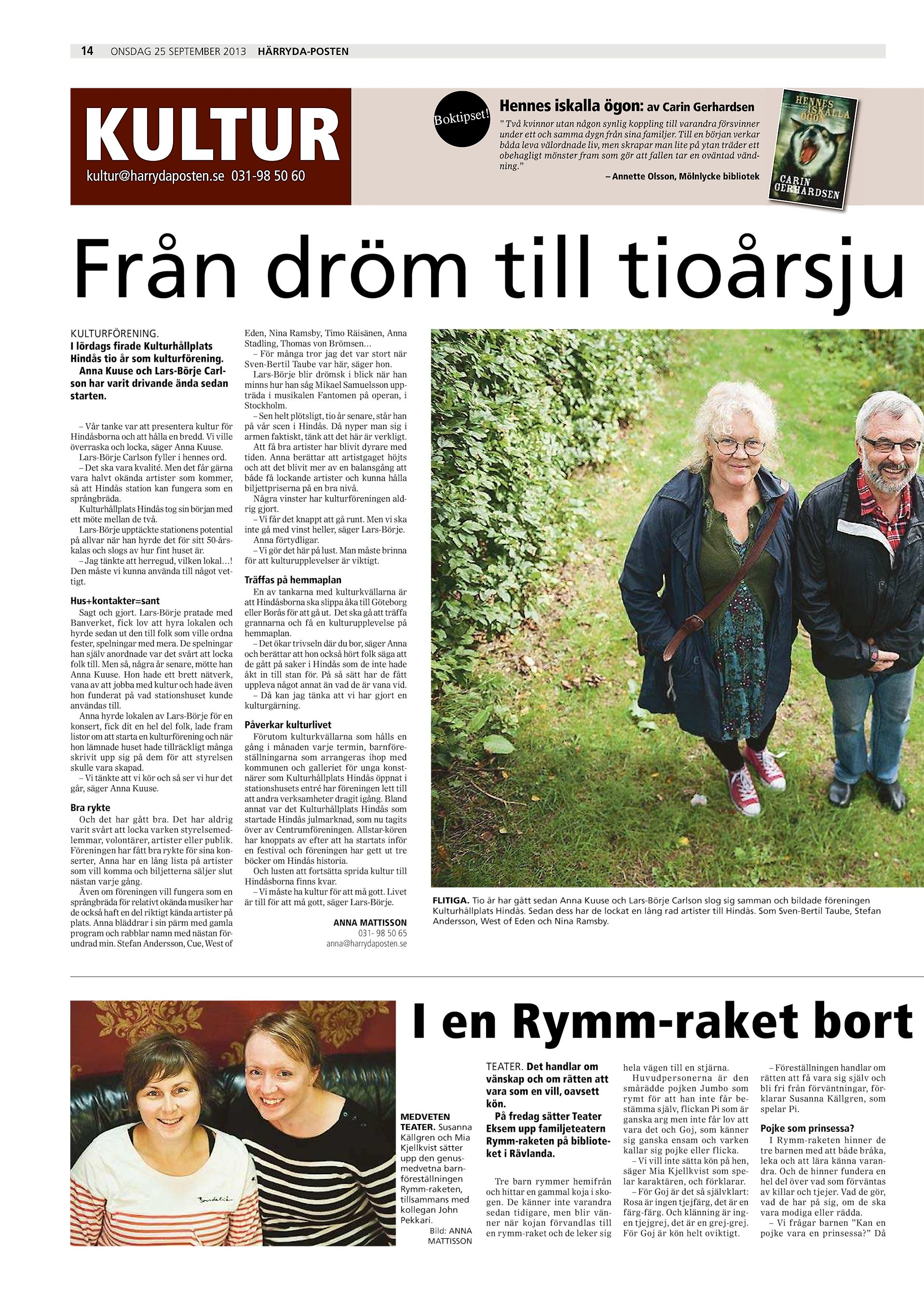 Lena Elisabeth Andersson, Brunnsliderna 23, Hinds | patient-survey.net