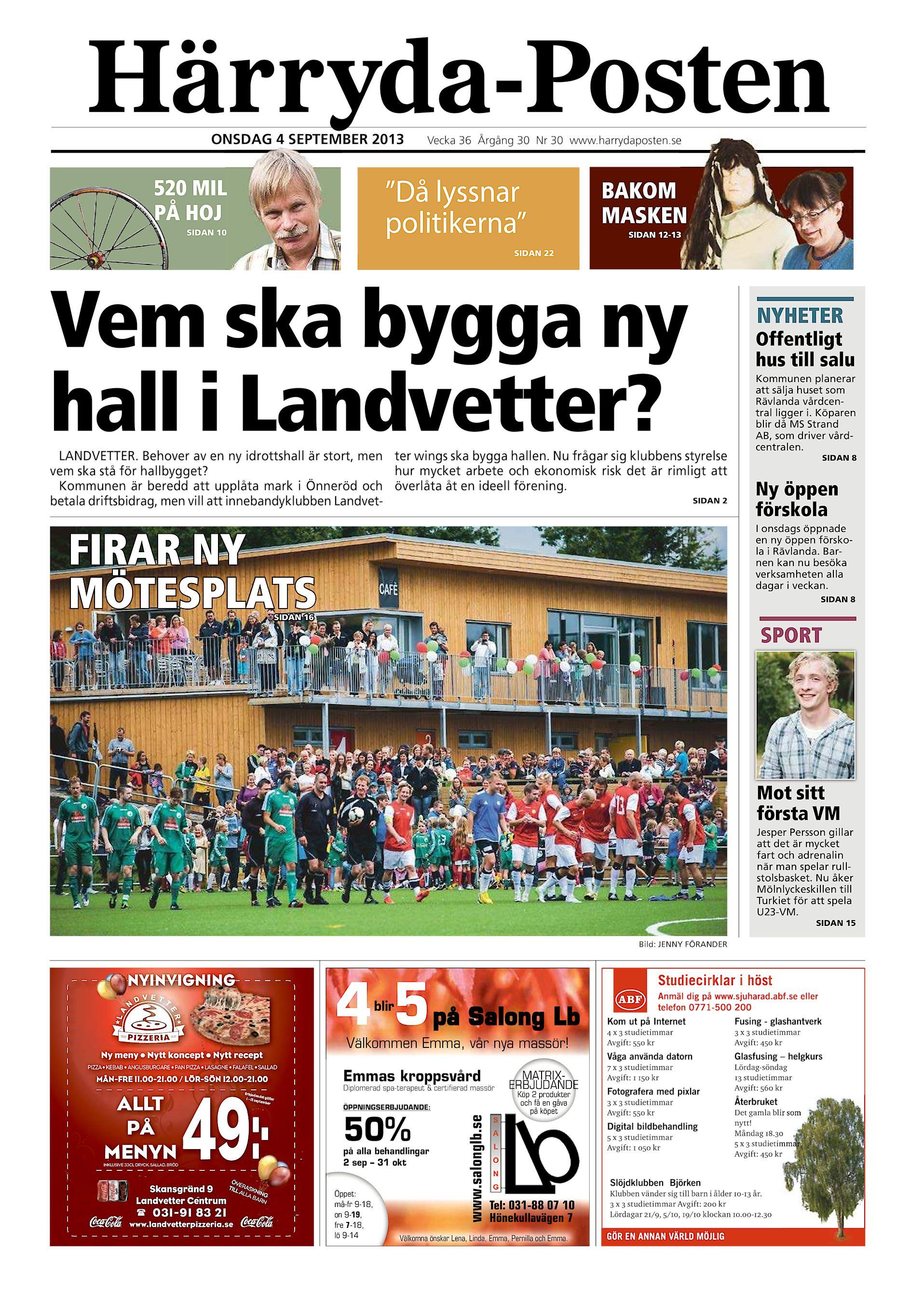 Hrrydaposten / Partille Tidning HP-2013-09-11 (endast text)