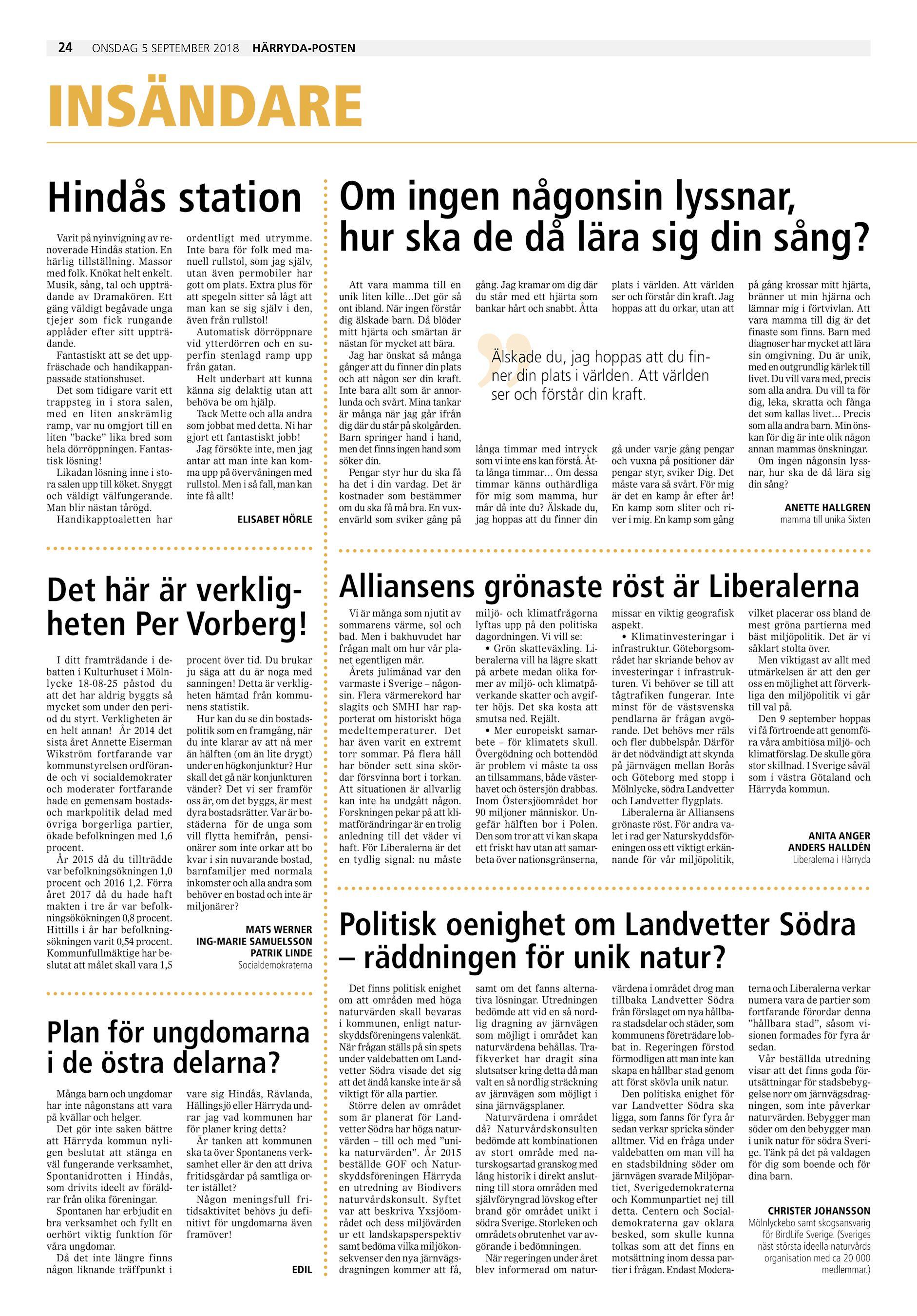 Hrrydaposten / Partille Tidning HP-2018-08-08 (endast text)