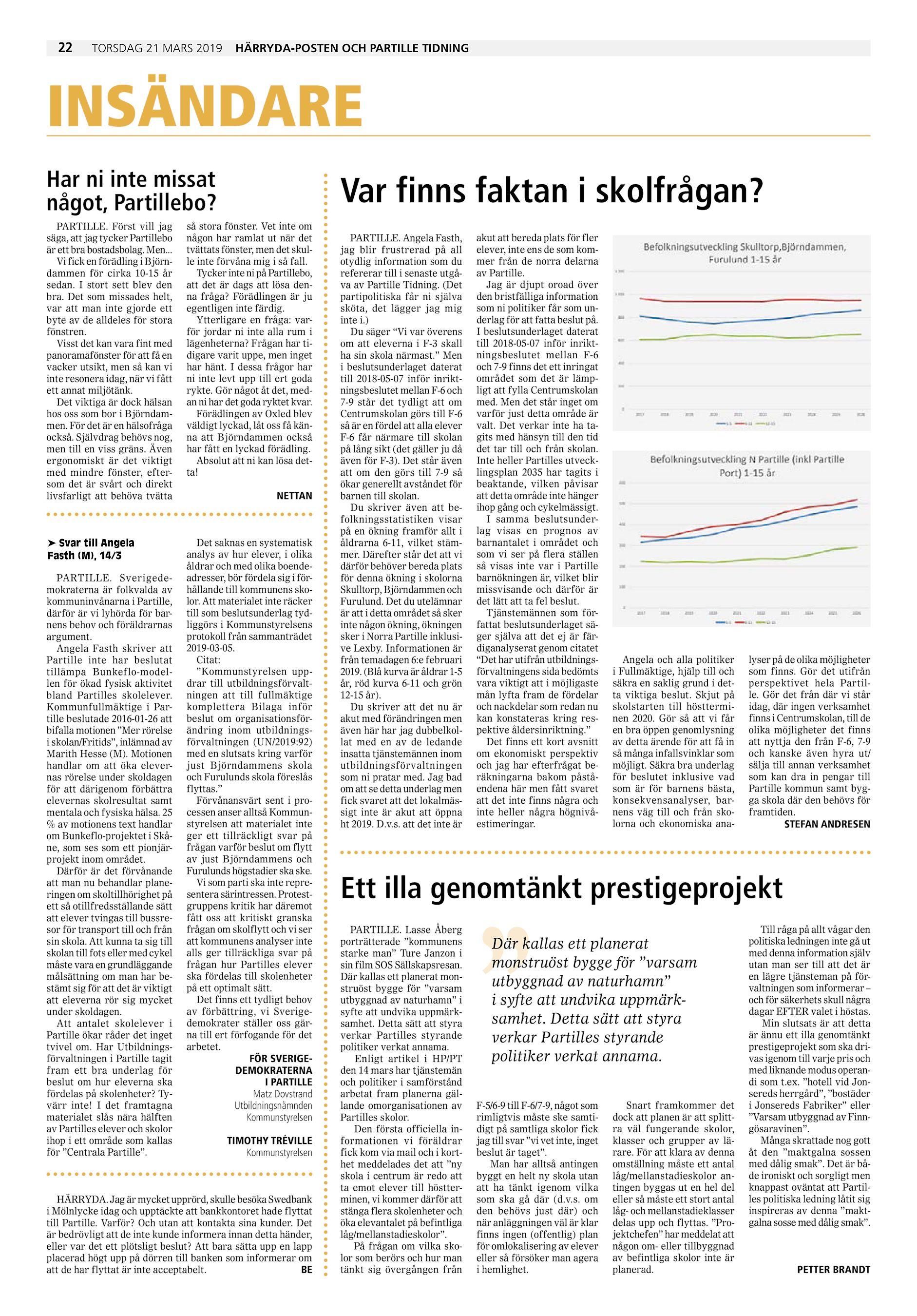 77aaefeb3eb Härrydaposten / Partille Tidning PT-2019-03-21 (endast text)