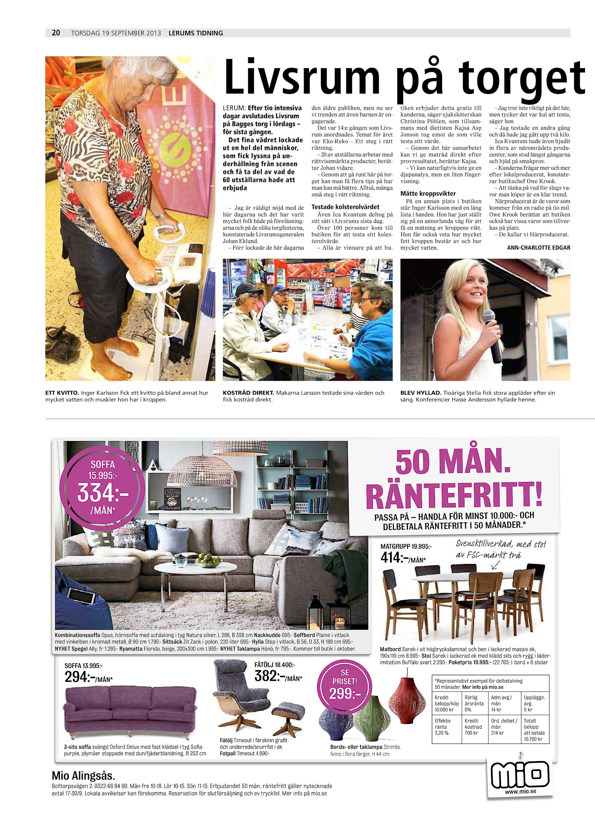 Lerums tidning LT 2013 09 19 (endast text)