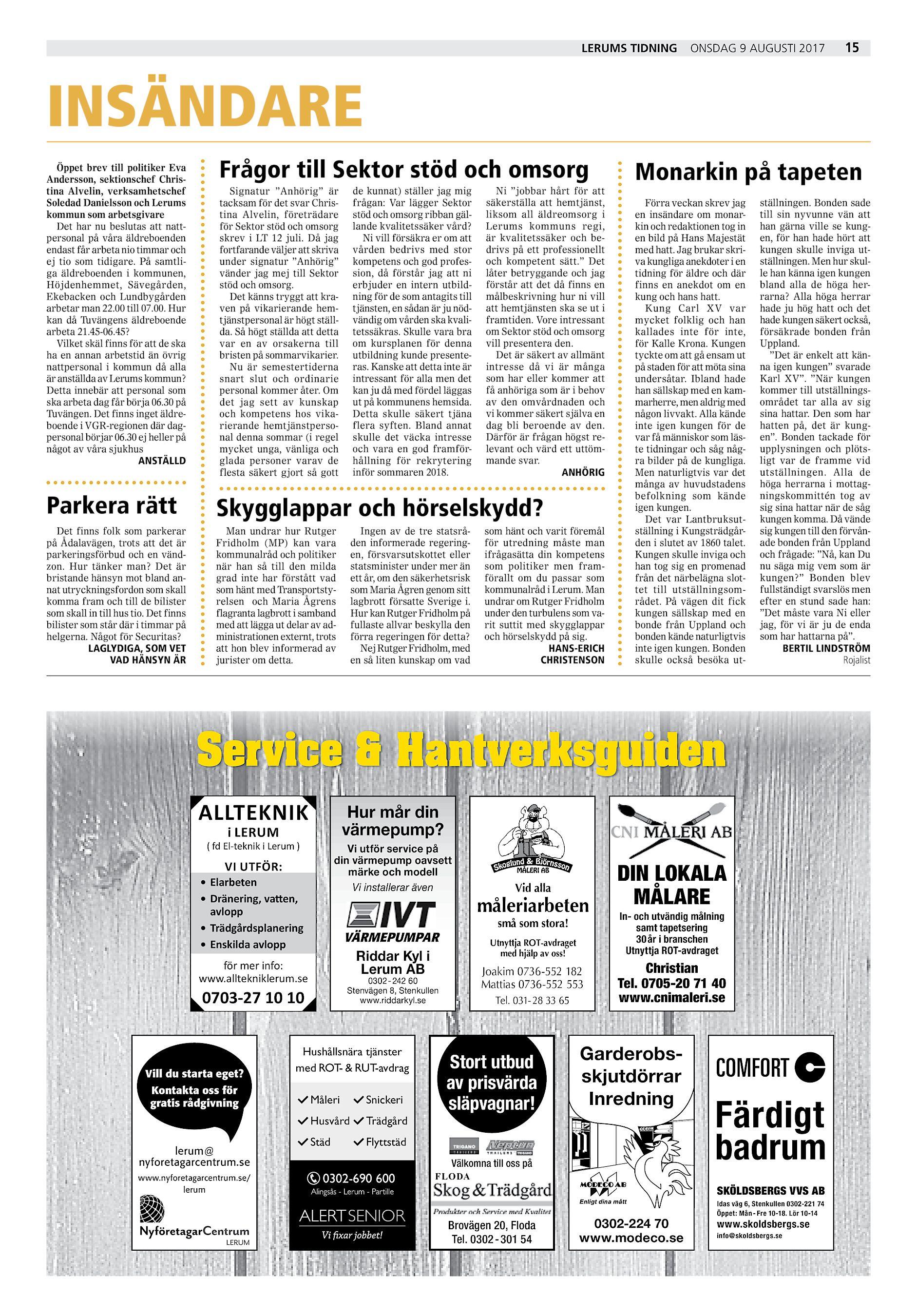 Fagerlund rasar mot schemat