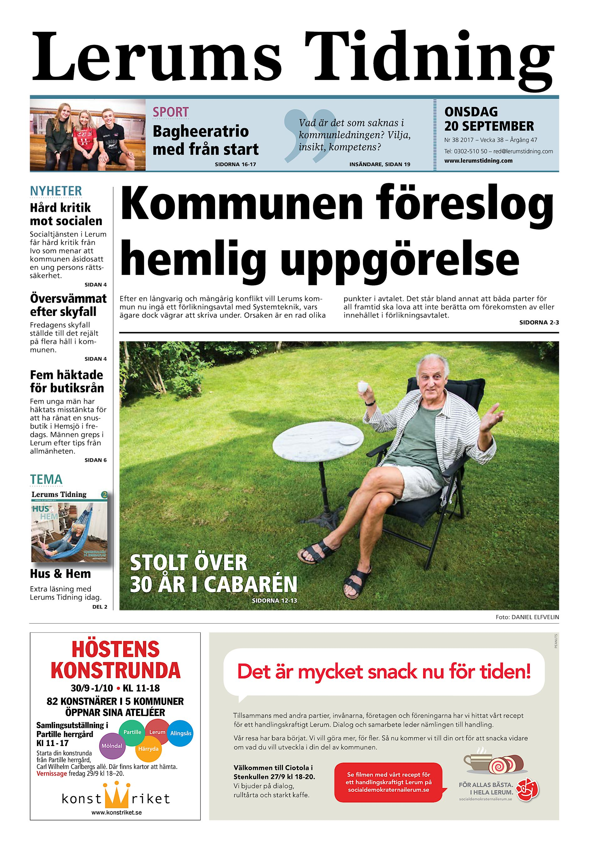 Ny mtesplats bjuder in till Hemester - Alingss kommun